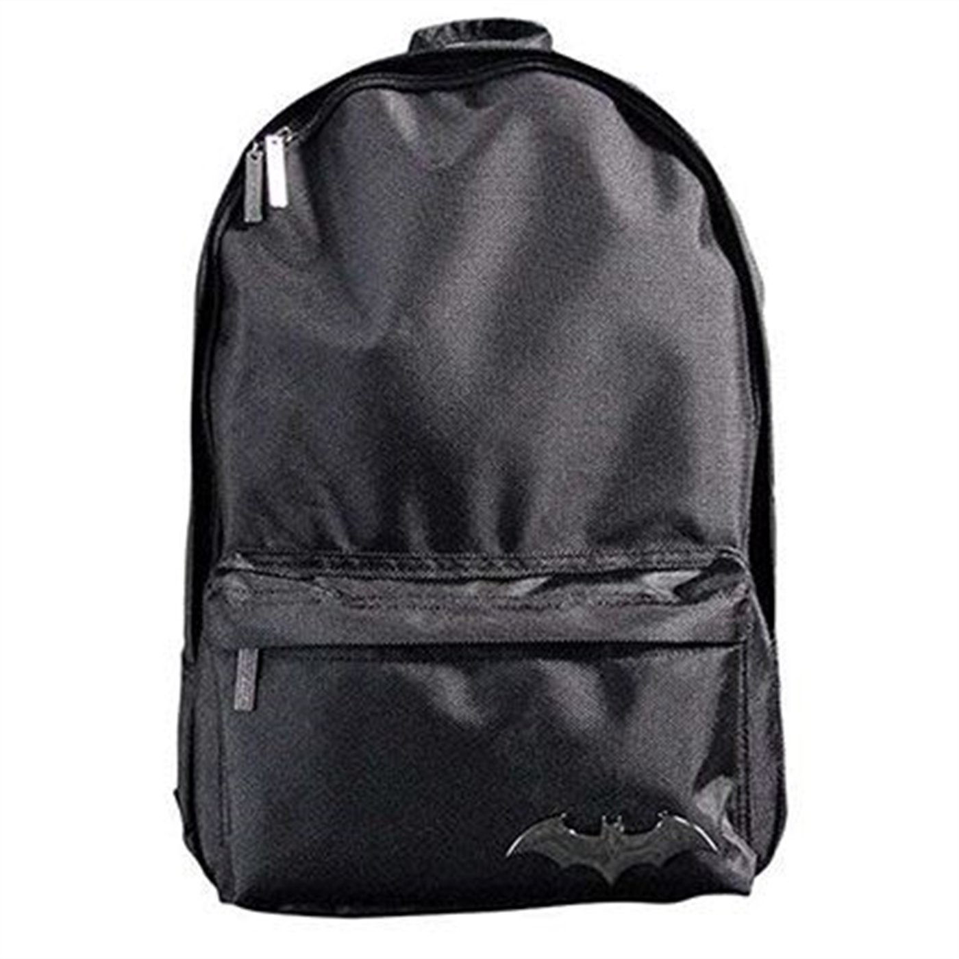 Black Batman Badge Backpack