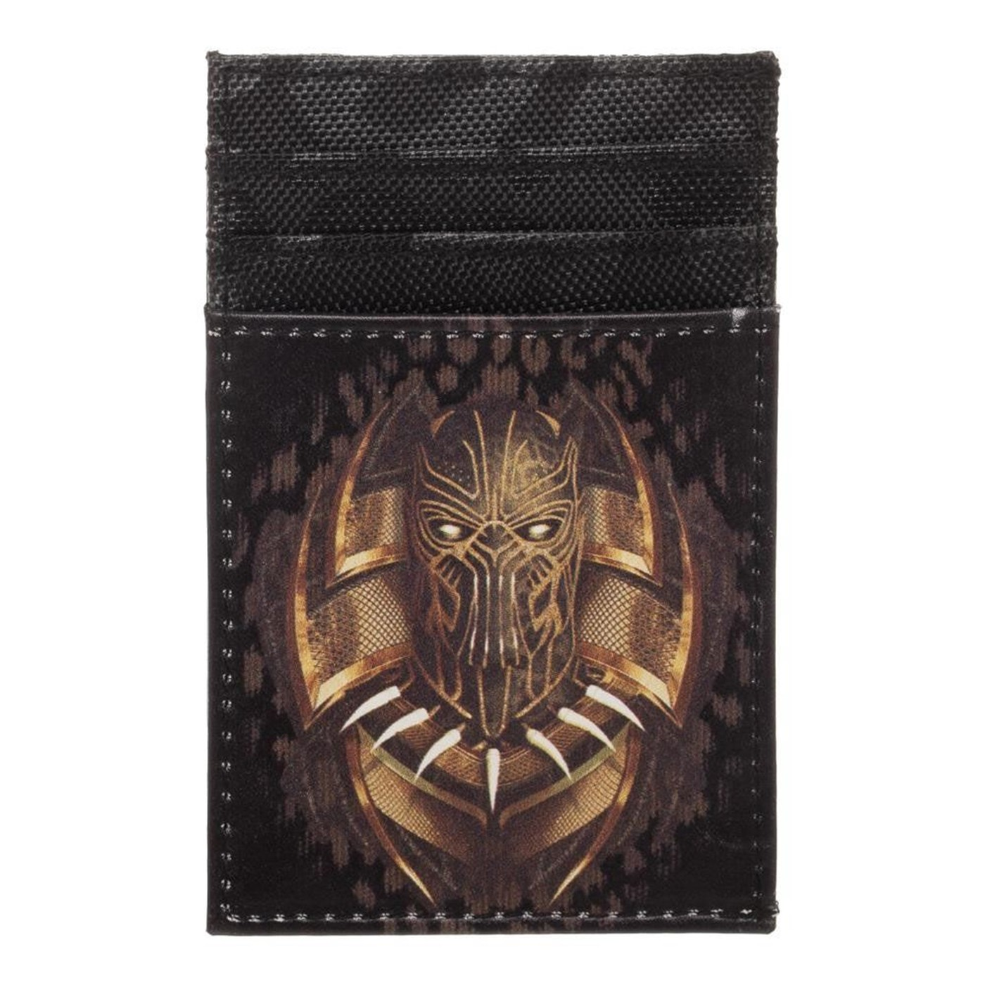 Black Panther Killmonger Front Pocket Card Wallet