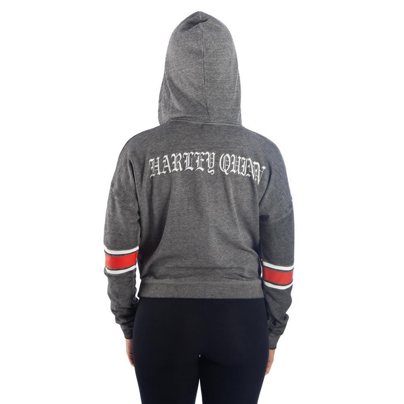Harley Quinn Burnout Women's Hooded Pullover