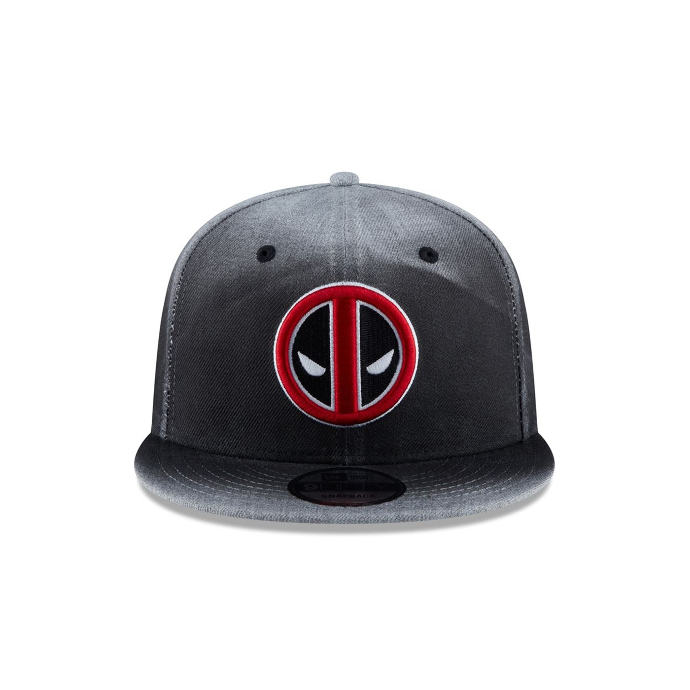 Deadpool Angry Symbol New Era 9Fifty Adjustable Hat