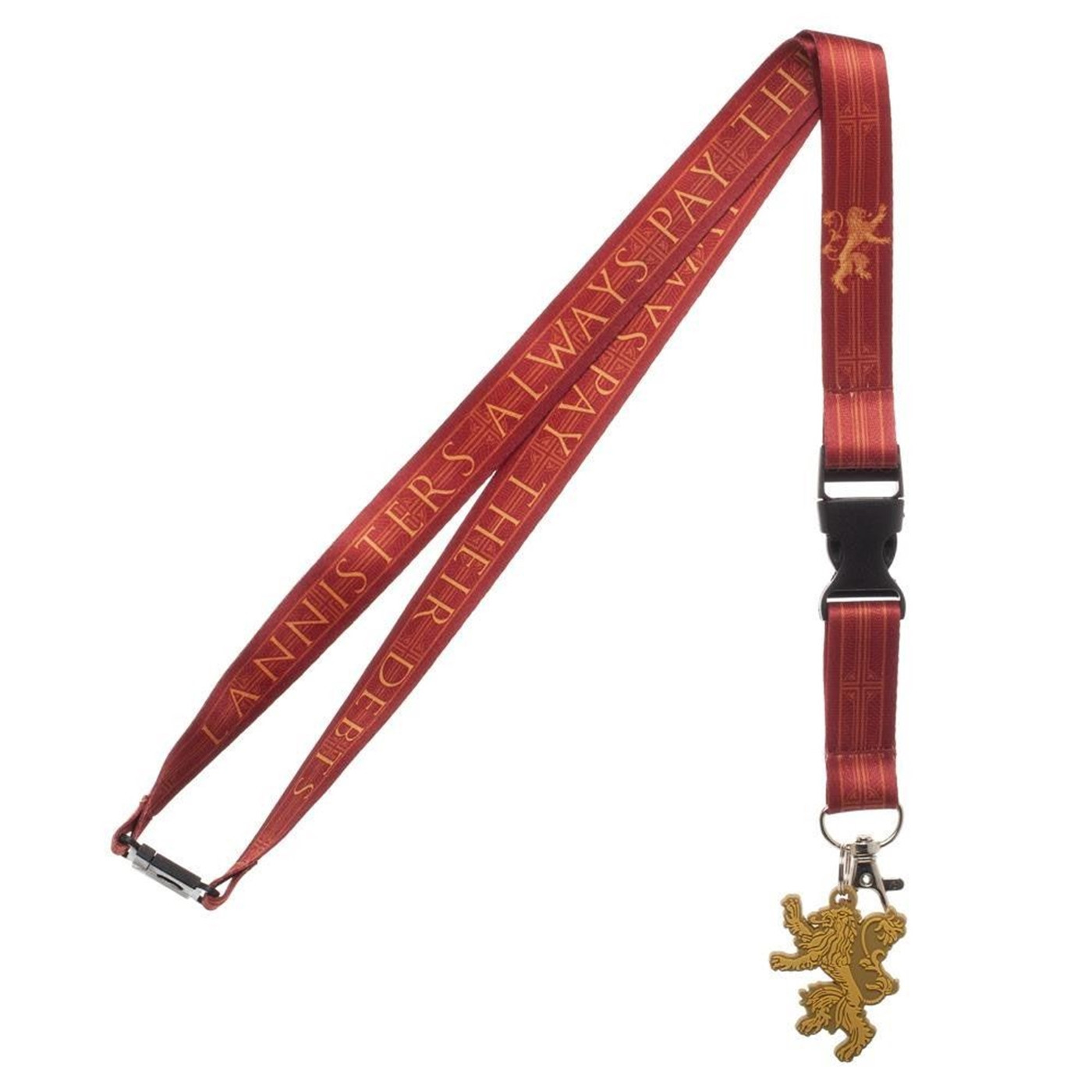 Game of Throne House Lannister Lanyard