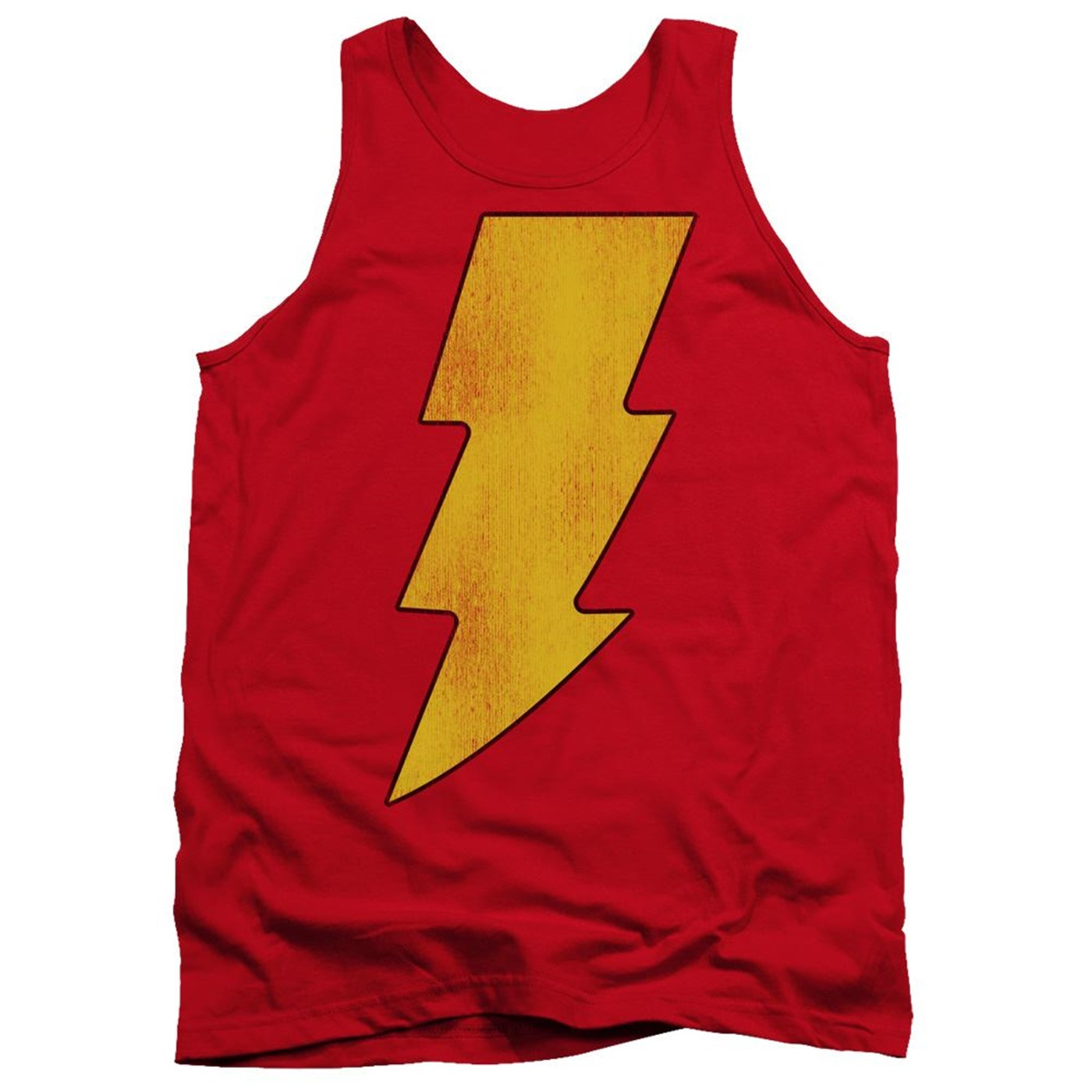 Shazam Distressed Logo Tank Top