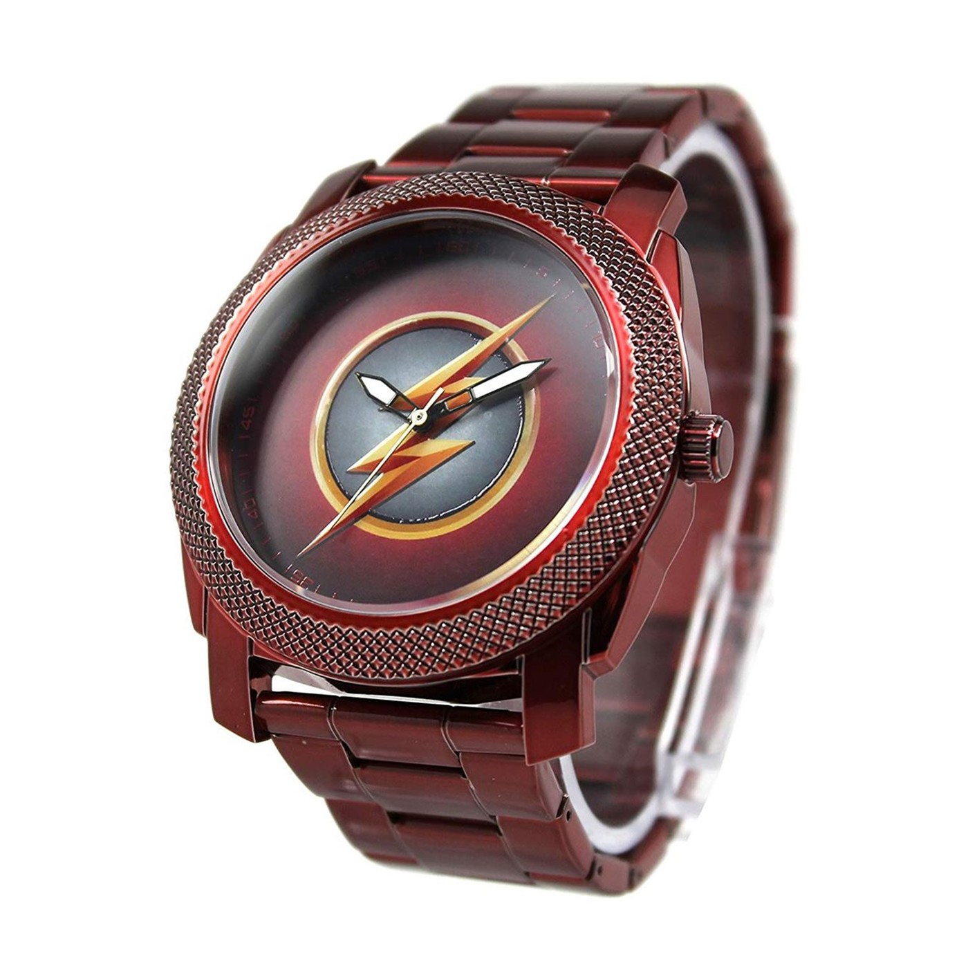 The Flash CW Stainless Steel Red Watch