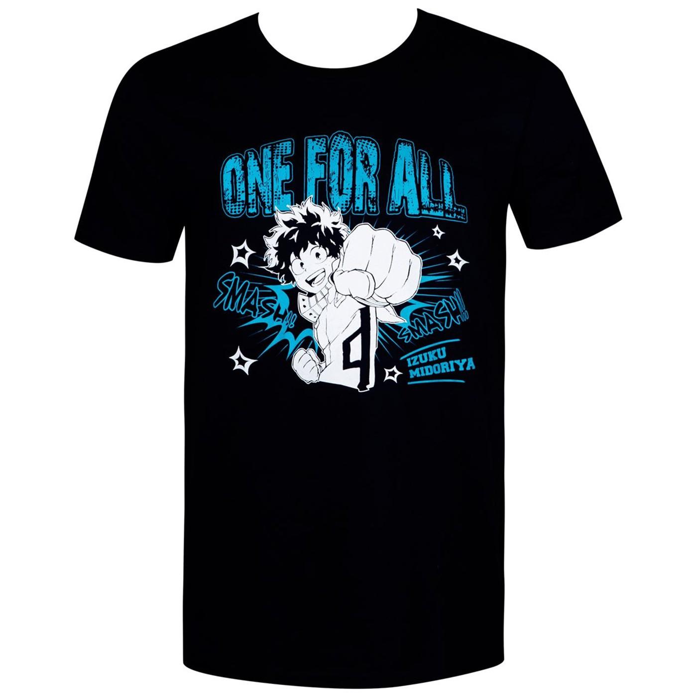 My Hero Academia Deku One For All Men's T-Shirt