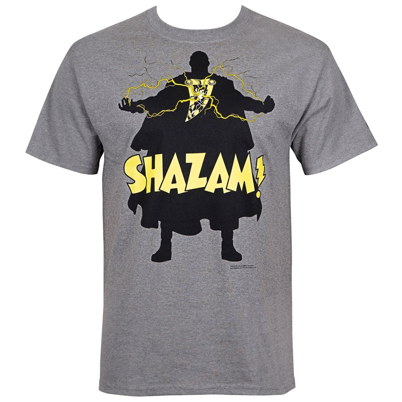 Shazam! Silhoutee Men's T-Shirt