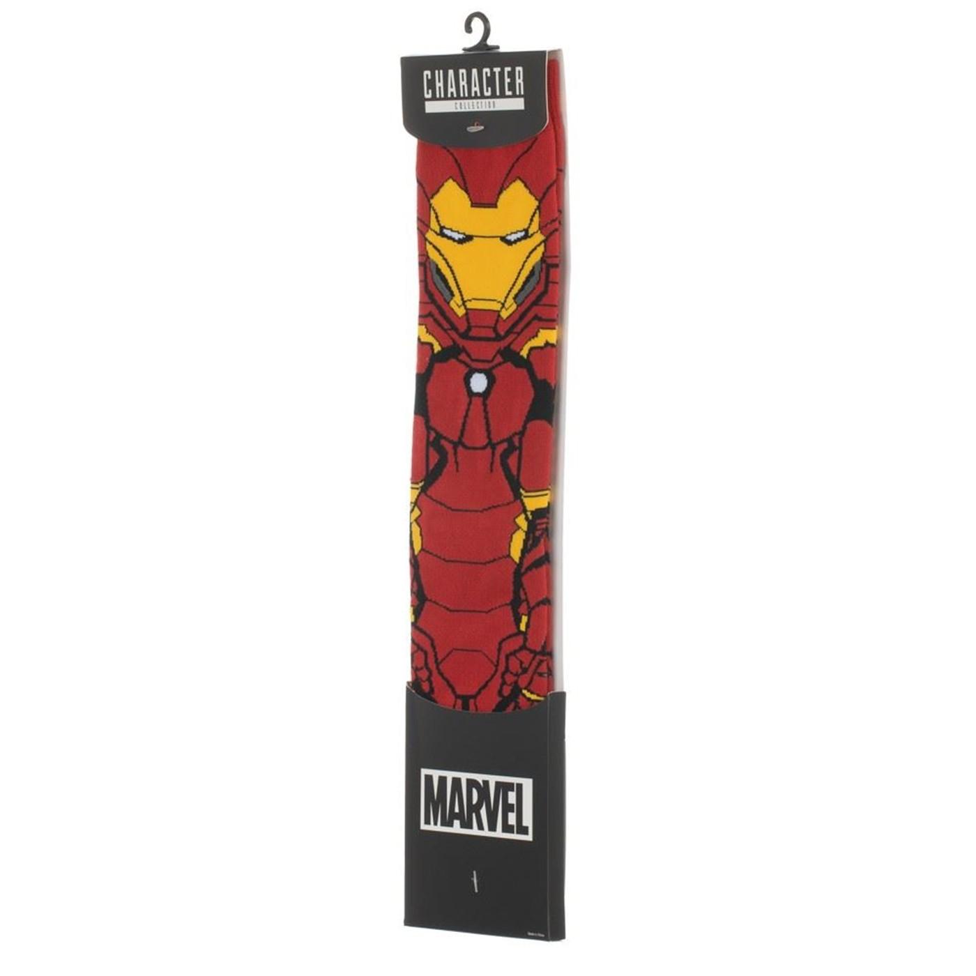 Iron Man 360 Character Crew Sock