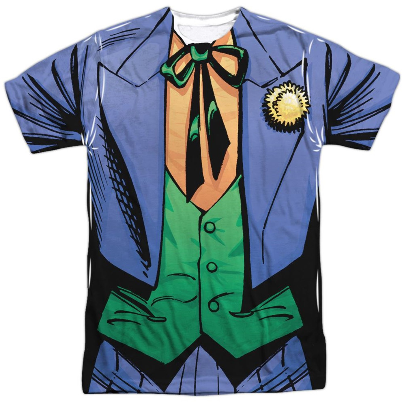 Joker Uniform Sublimated Costume Men's T-Shirt
