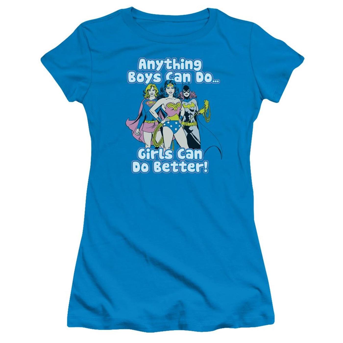 Girls Can Do It Better Women's T-Shirt