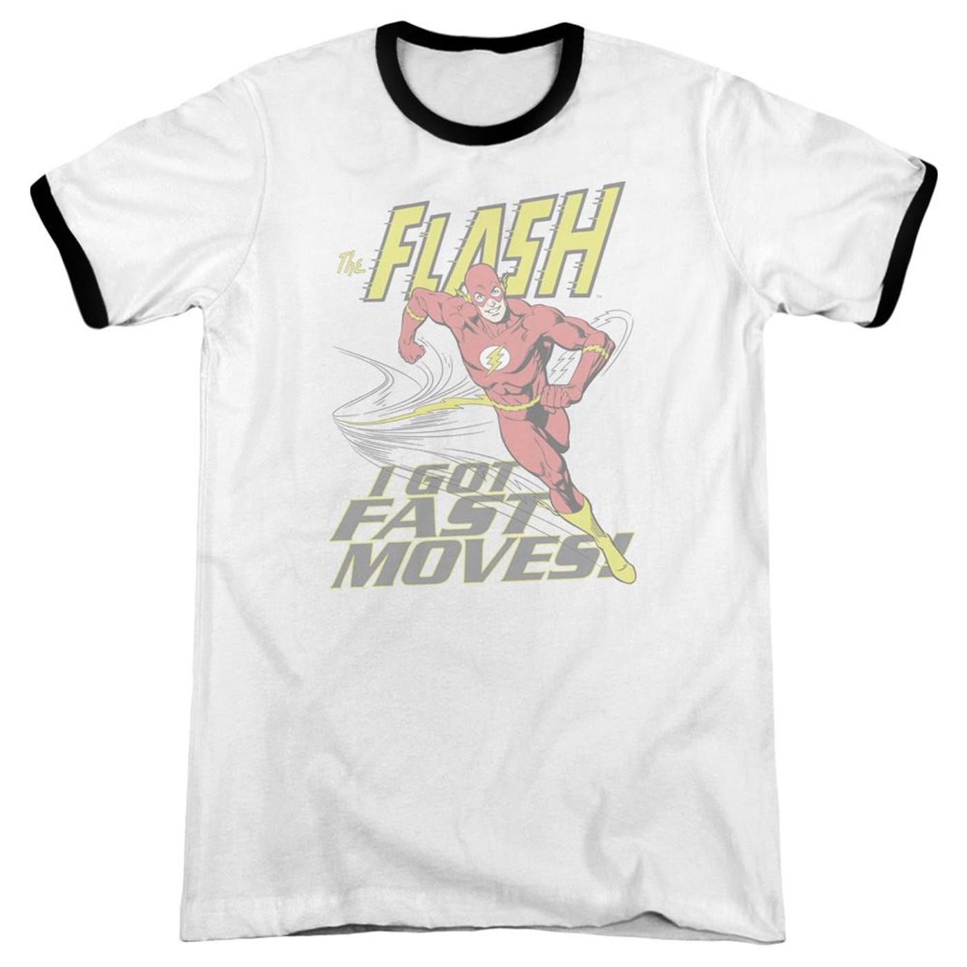 The Flash Fast Moves Men's Ringer T-Shirt