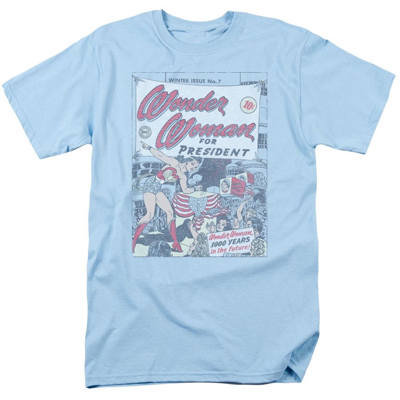 Wonder Woman for President Men's T-Shirt