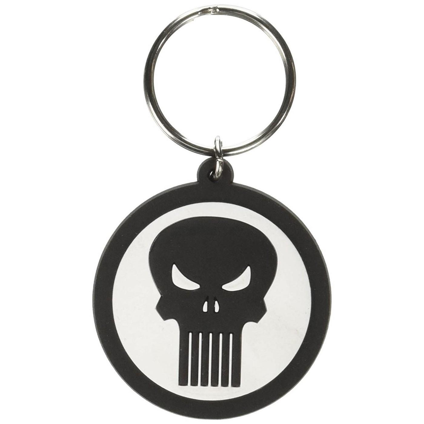 Punisher Soft Touch Keychain