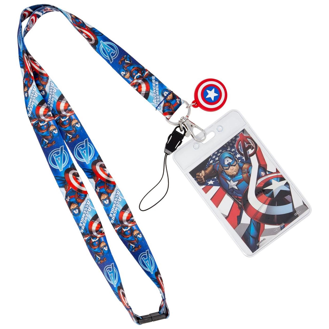 Captain America Lanyard