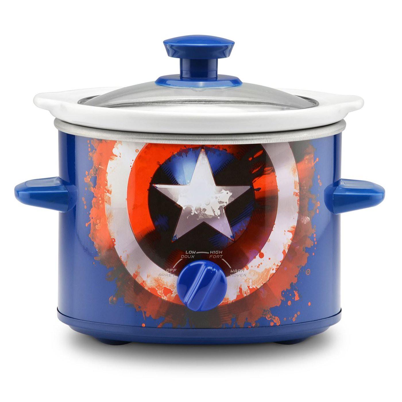 Captain America 2-Quart Slow Cooker