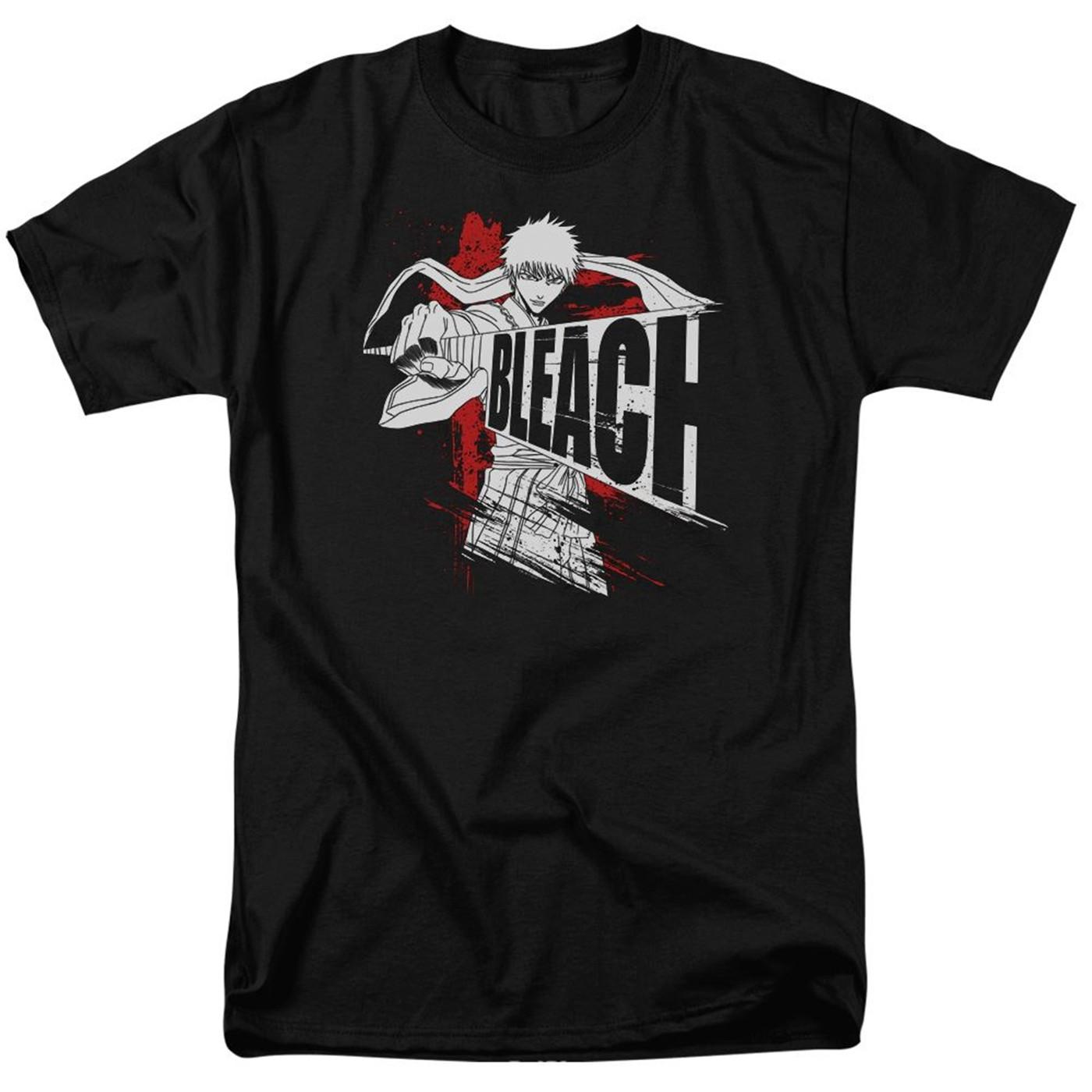 Bleach Sword Drawn Black Men's T-Shirt