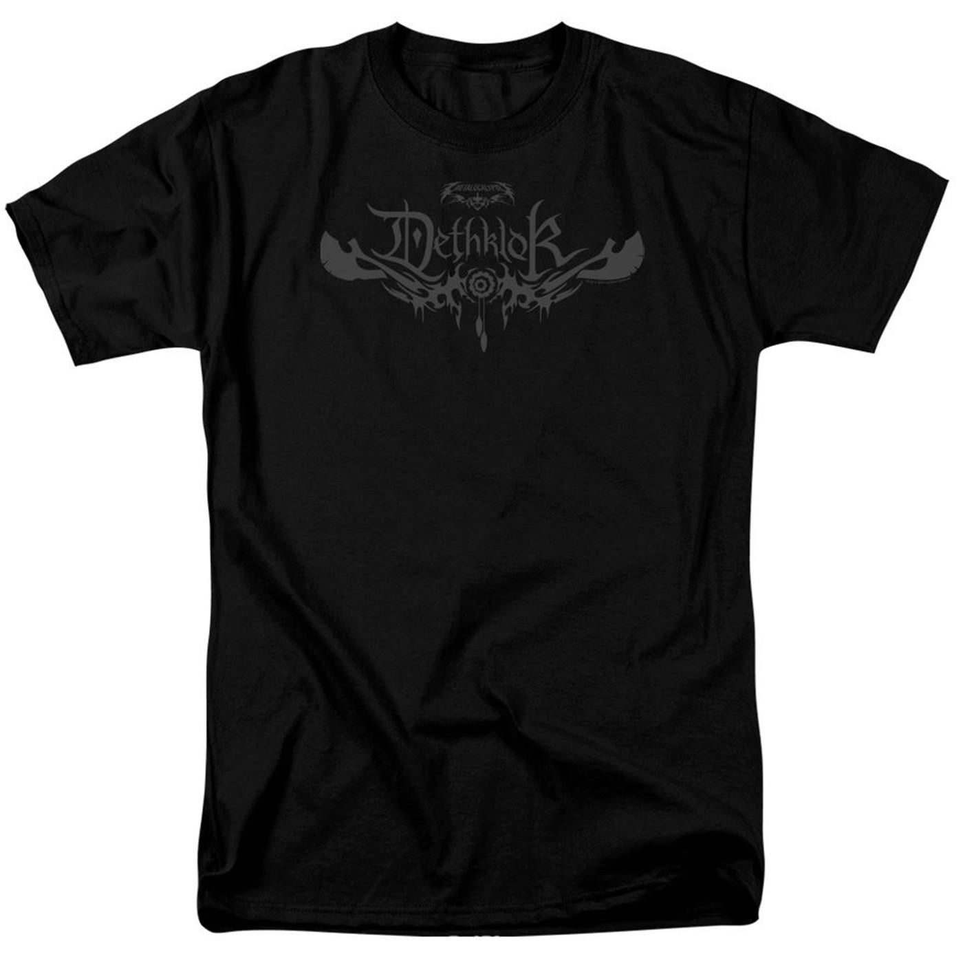 Metalocalypse Dethklok Logo Men's Black T-Shirt