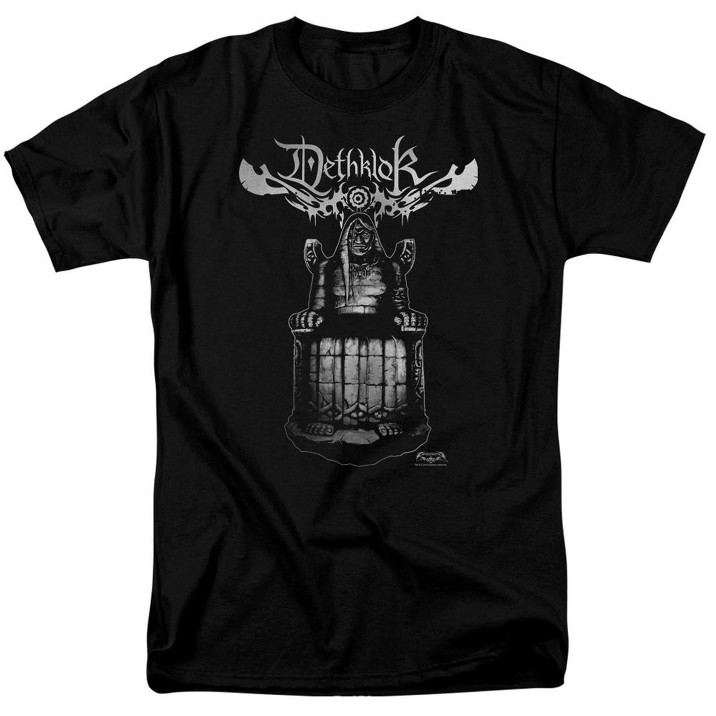Metalocalypse Dethklok Statue Men's Black T-Shirt