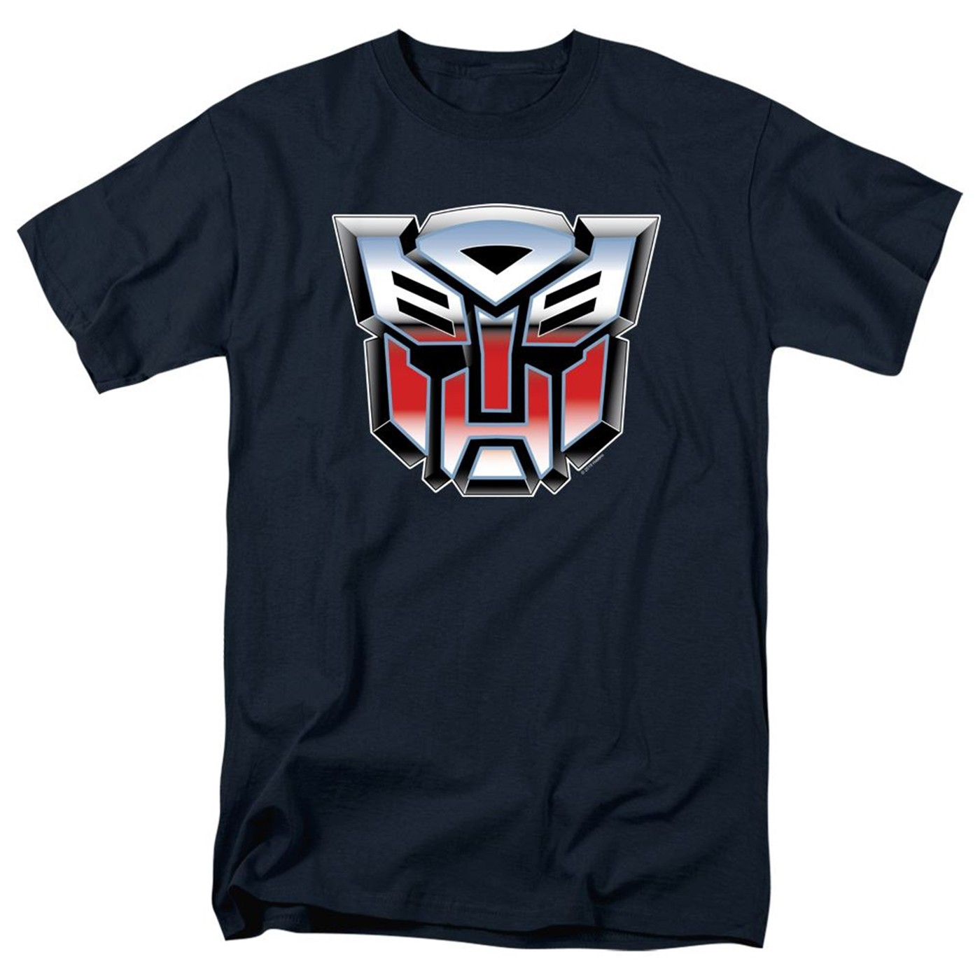 Transformers Autobot Logo Navy Blue Men's T-Shirt