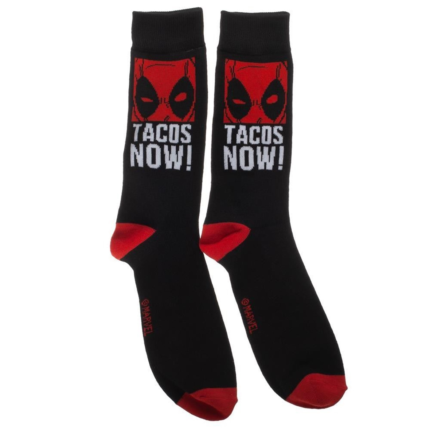 Marvel Deadpool 2 Pack Crew Socks