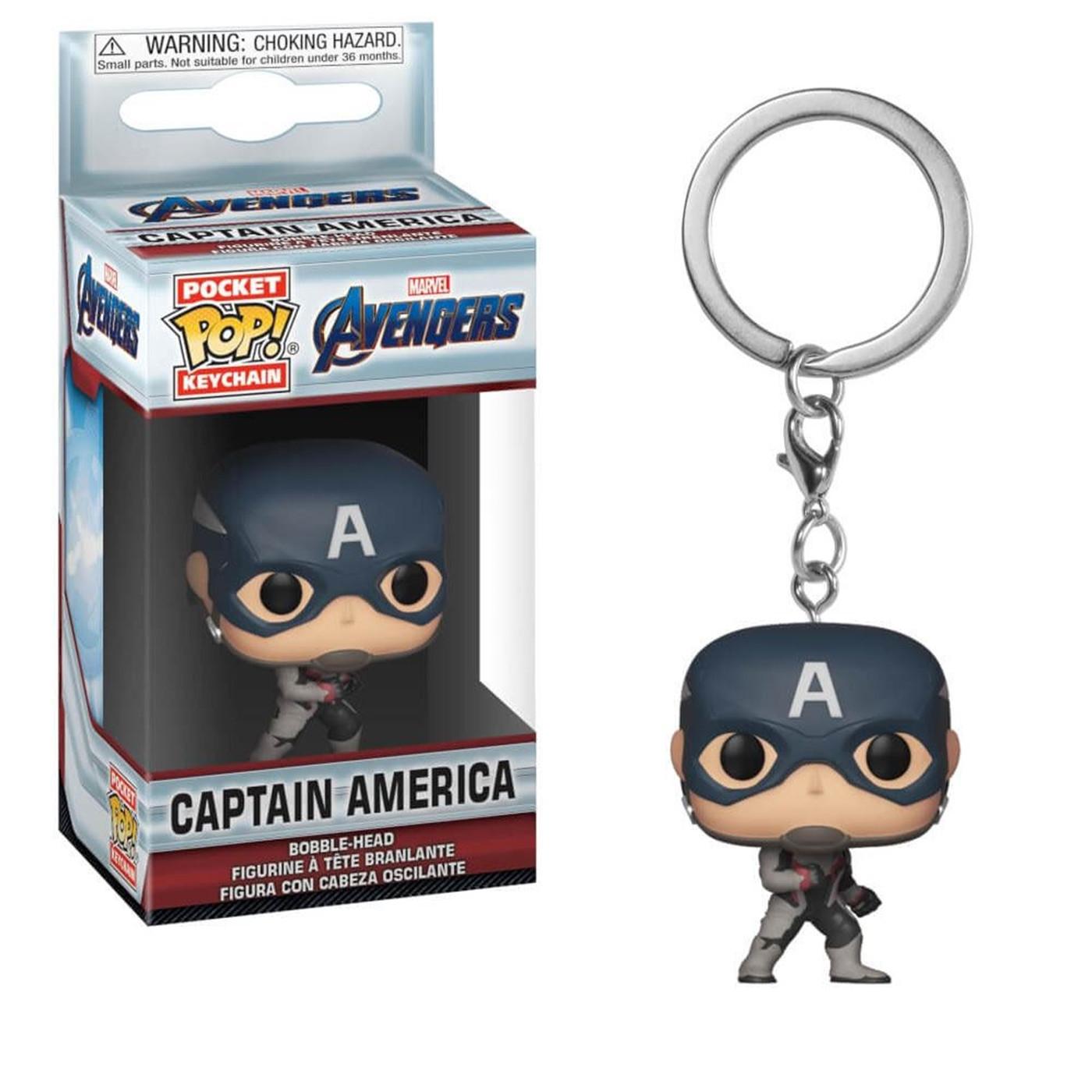 Funko POP Keychains: Marvel Avengers Endgame - Captain America