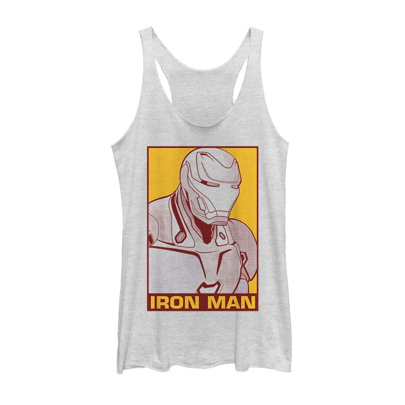 Avengers Endgame Iron Man Pop of Color Women's Tank Top