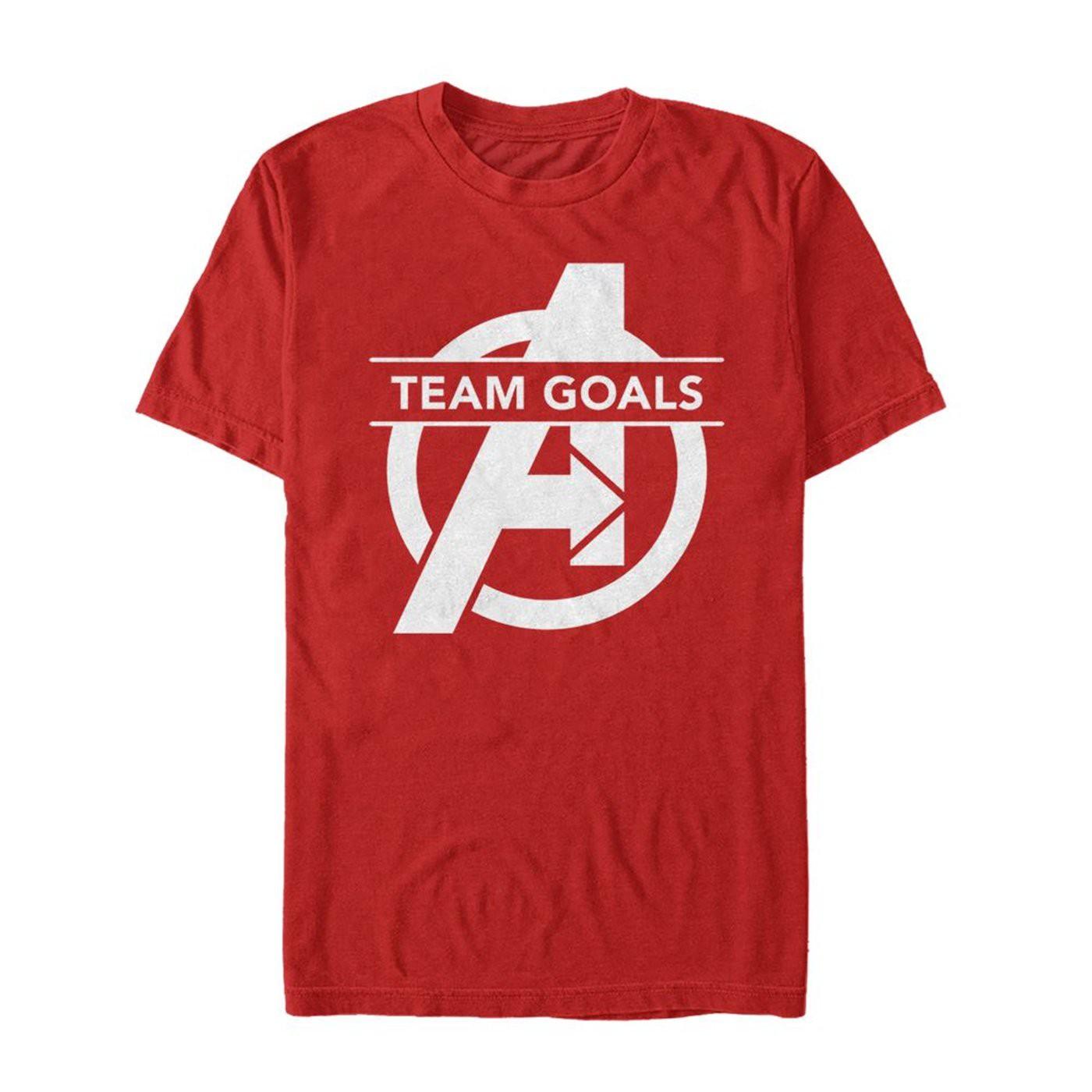 Avengers Endgame Squad Goals Logo Men's T-Shirt