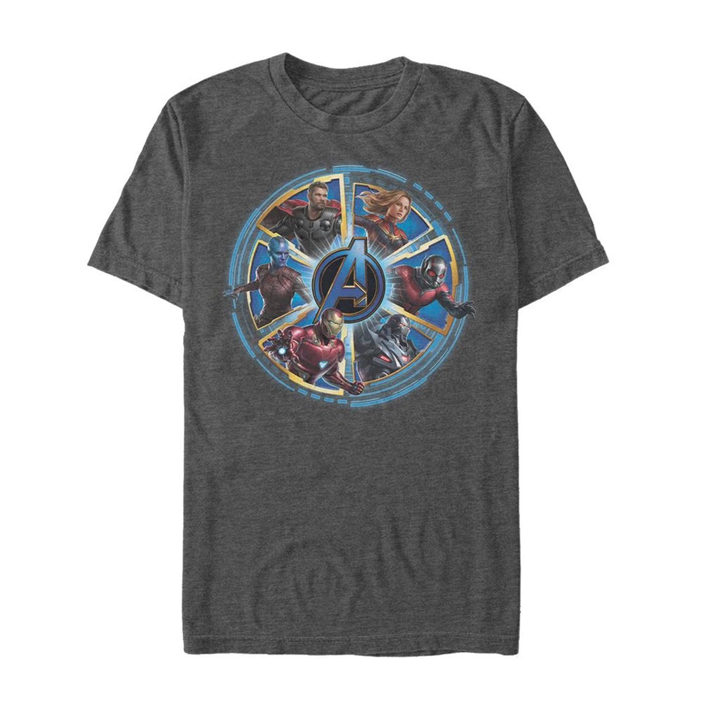 Avengers Endgame Circle Heroes Men's T-Shirt