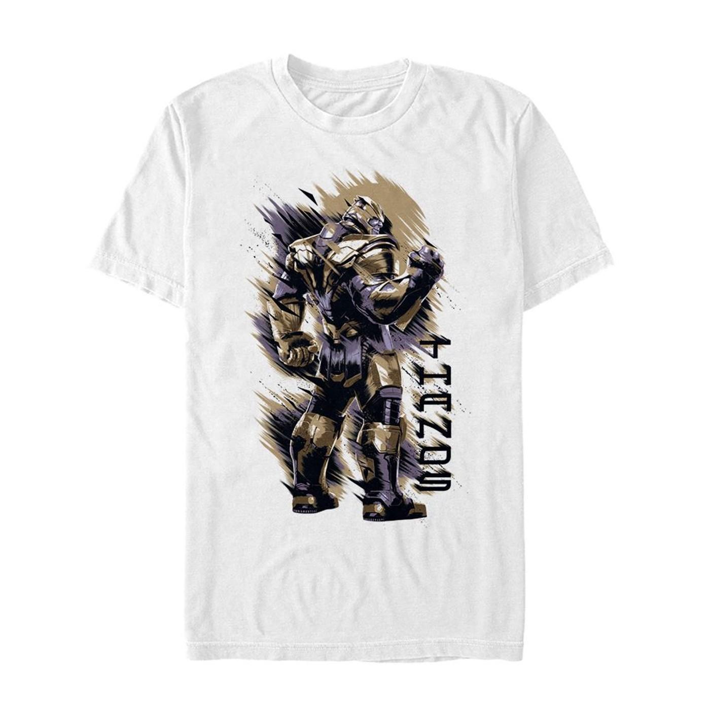 Avengers Endgame Thanos Shoulder Men's T-Shirt