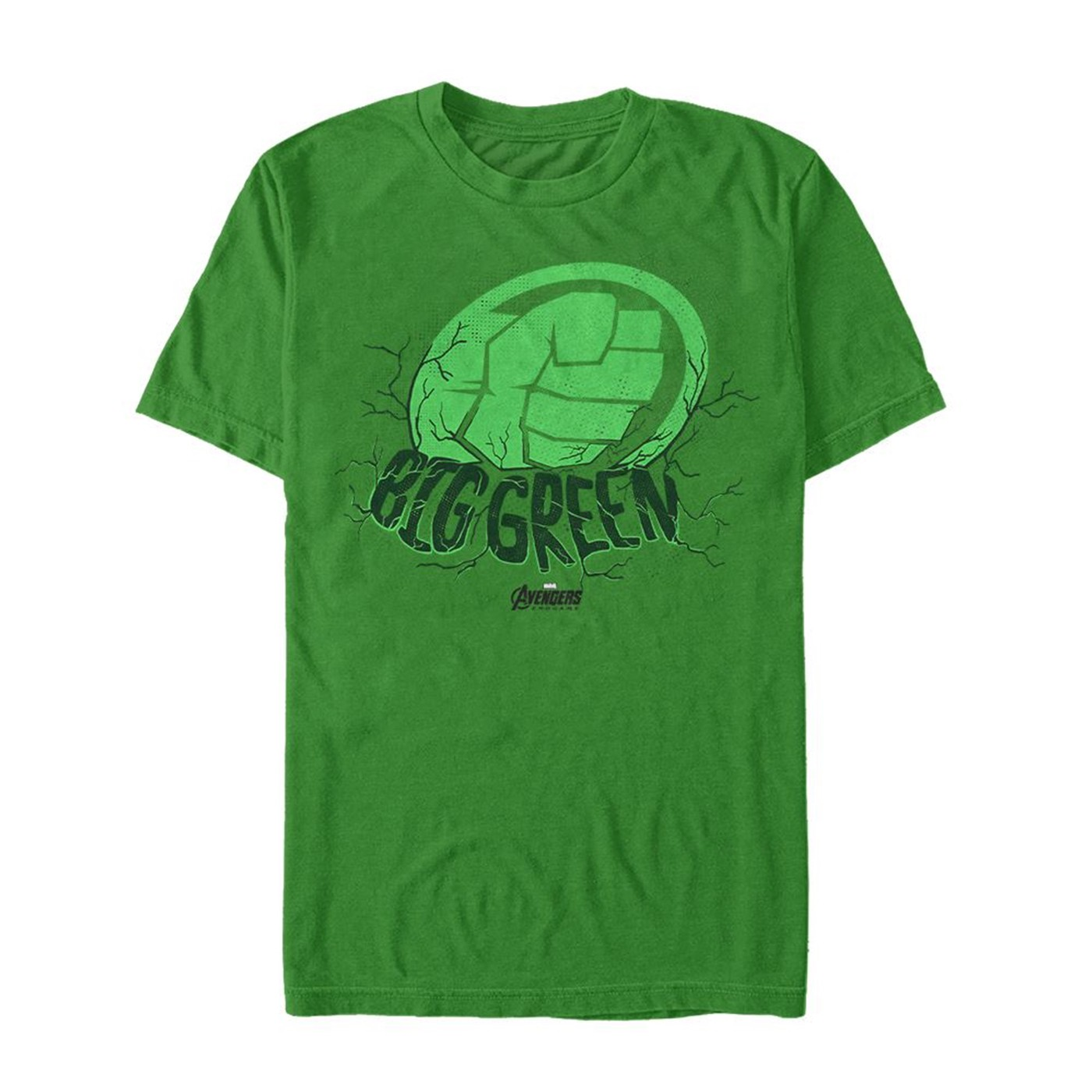 Avenger Endgame Hulk Big Green Men's T-Shirt