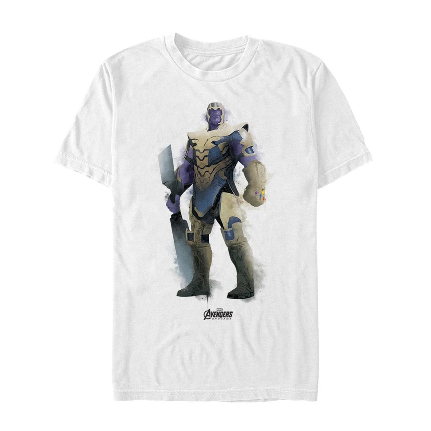 Avenger Endgame Thanos Painted Men's T-Shirt