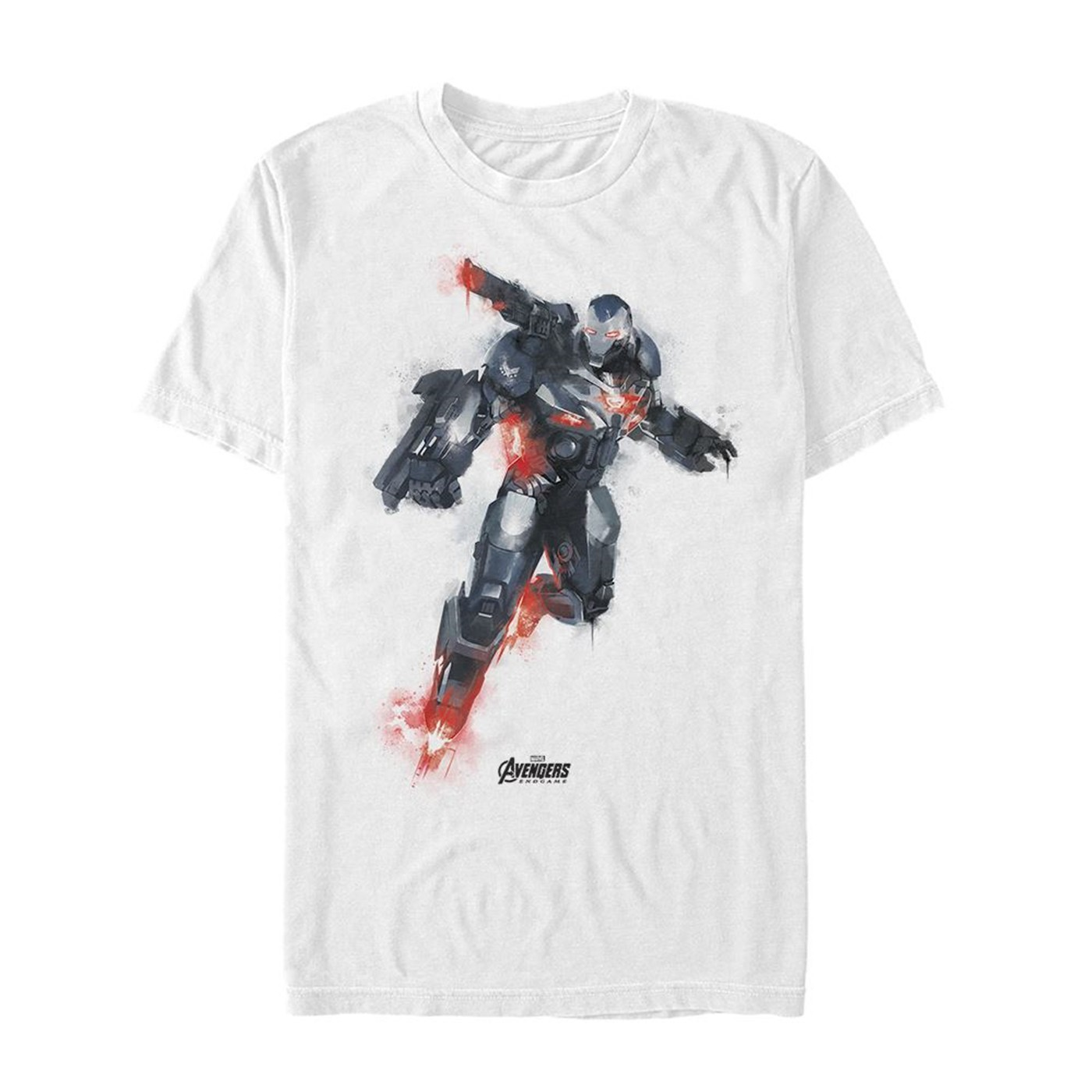 Avenger Endgame War Machine Painted Men's T-Shirt