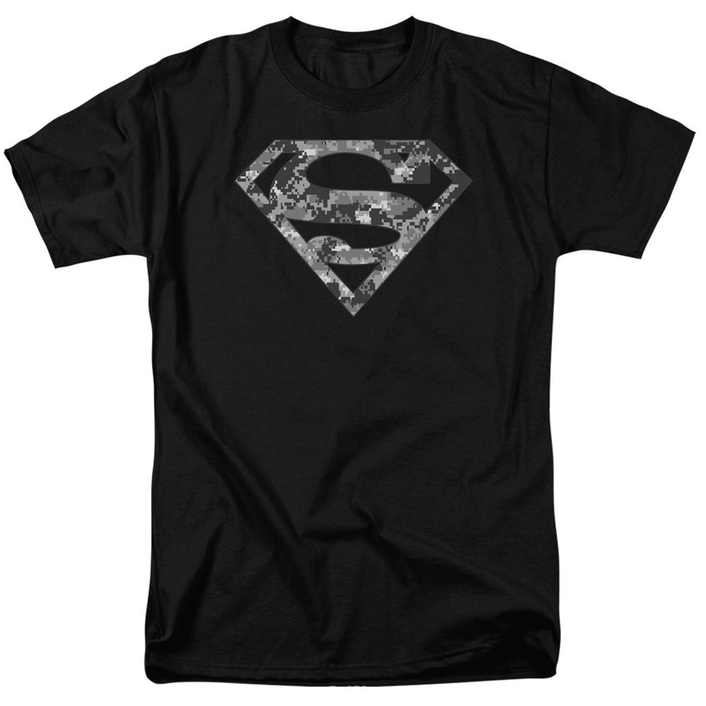 Superman Urban Camo Symbol Men's T-Shirt