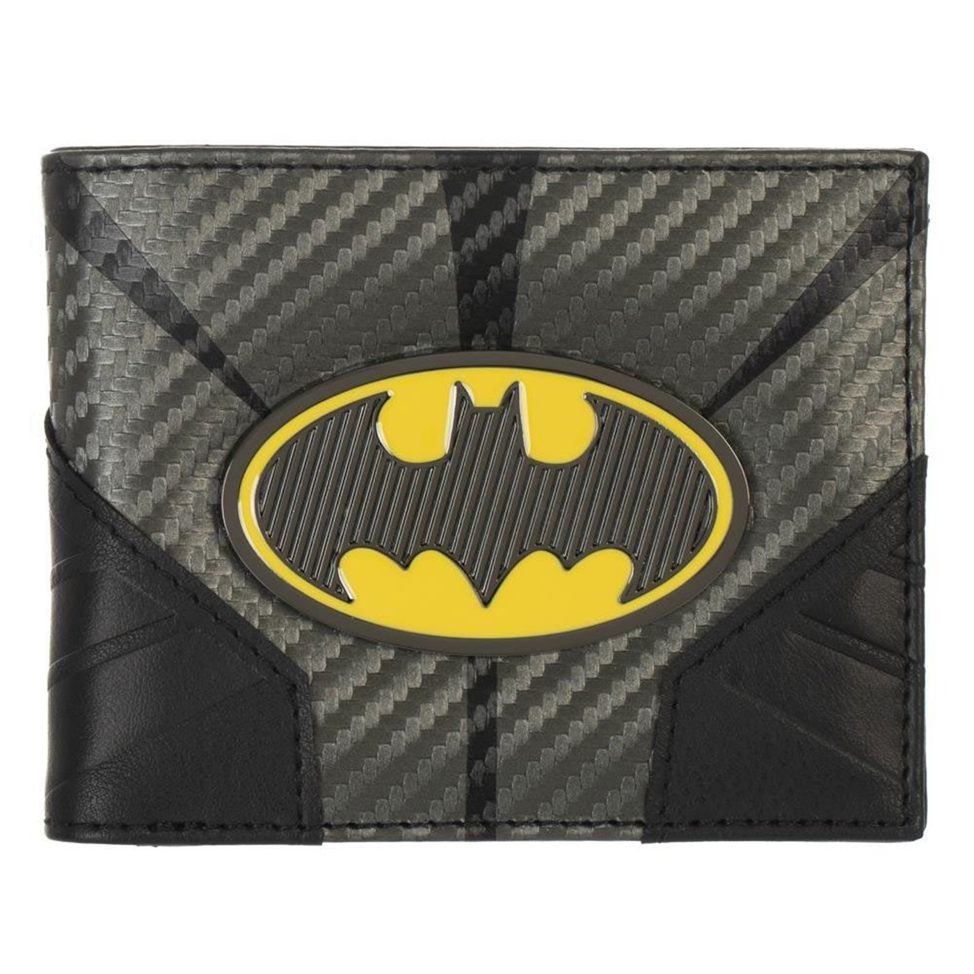 Batman Metal Badge Bifold Wallet