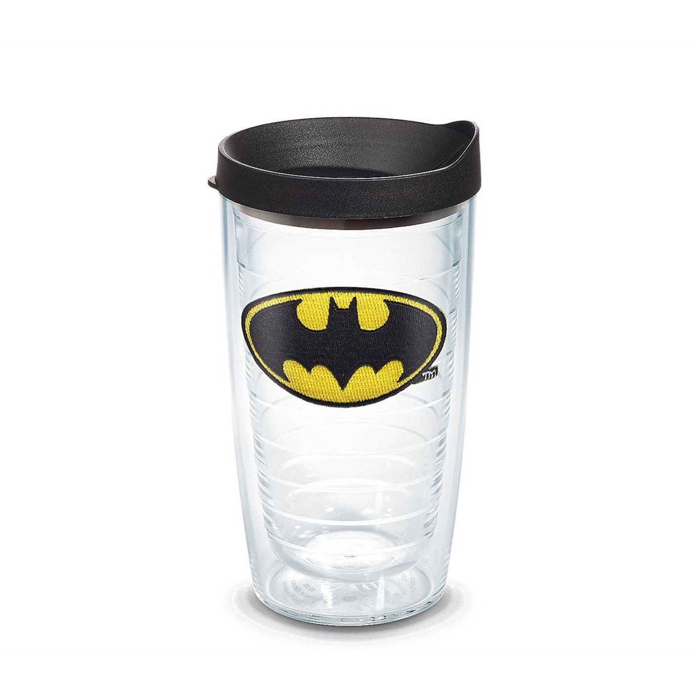 Batman Emblem Tumbler With Lid 16 oz Tervis