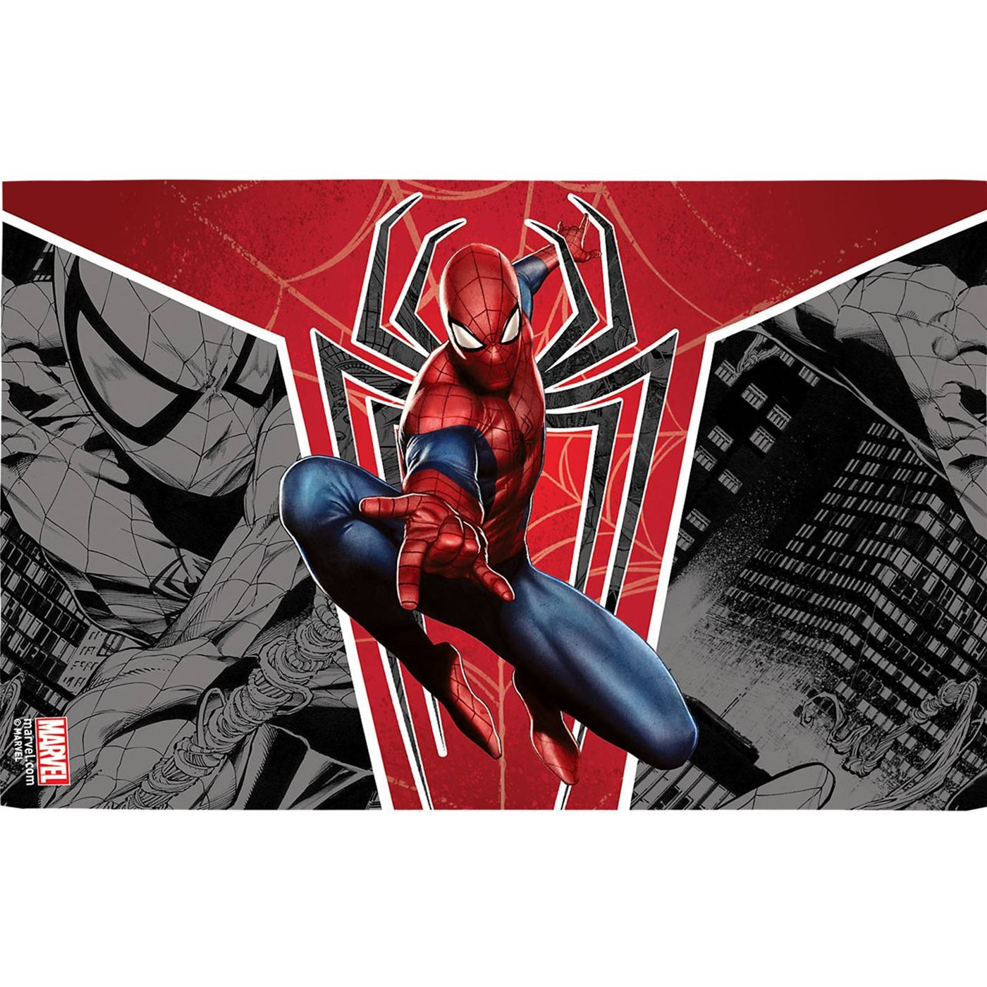 Spider-Man Red Spider Wrap Tumbler With Travel Lid 16 oz Tervis®