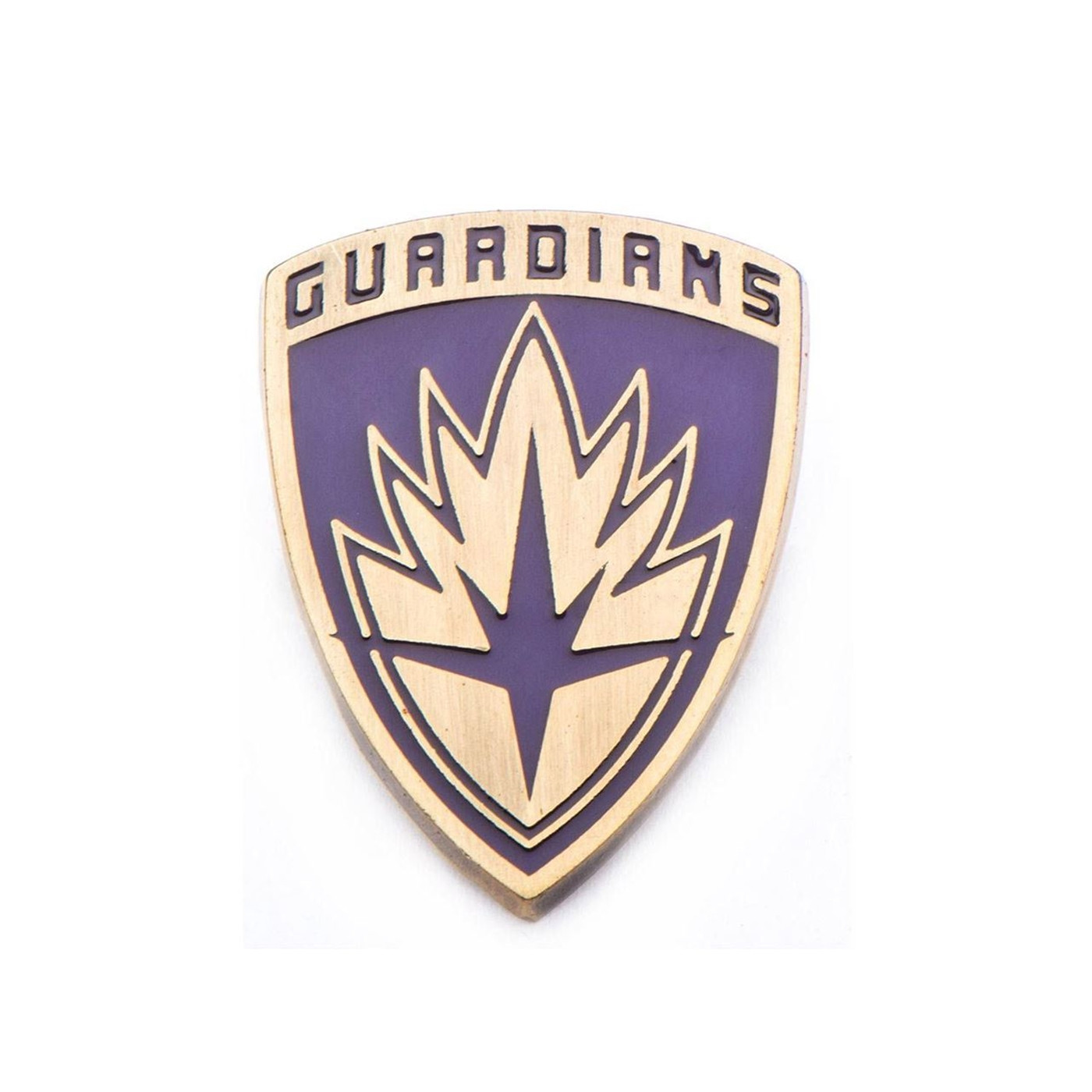 Marvel Base Metal Guardians of the Galaxy Shield Pin