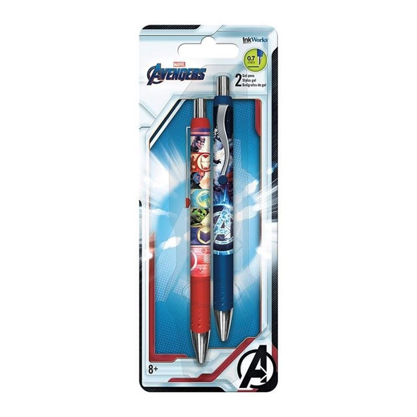 Avengers Endgame Gel Pens  2-Pack