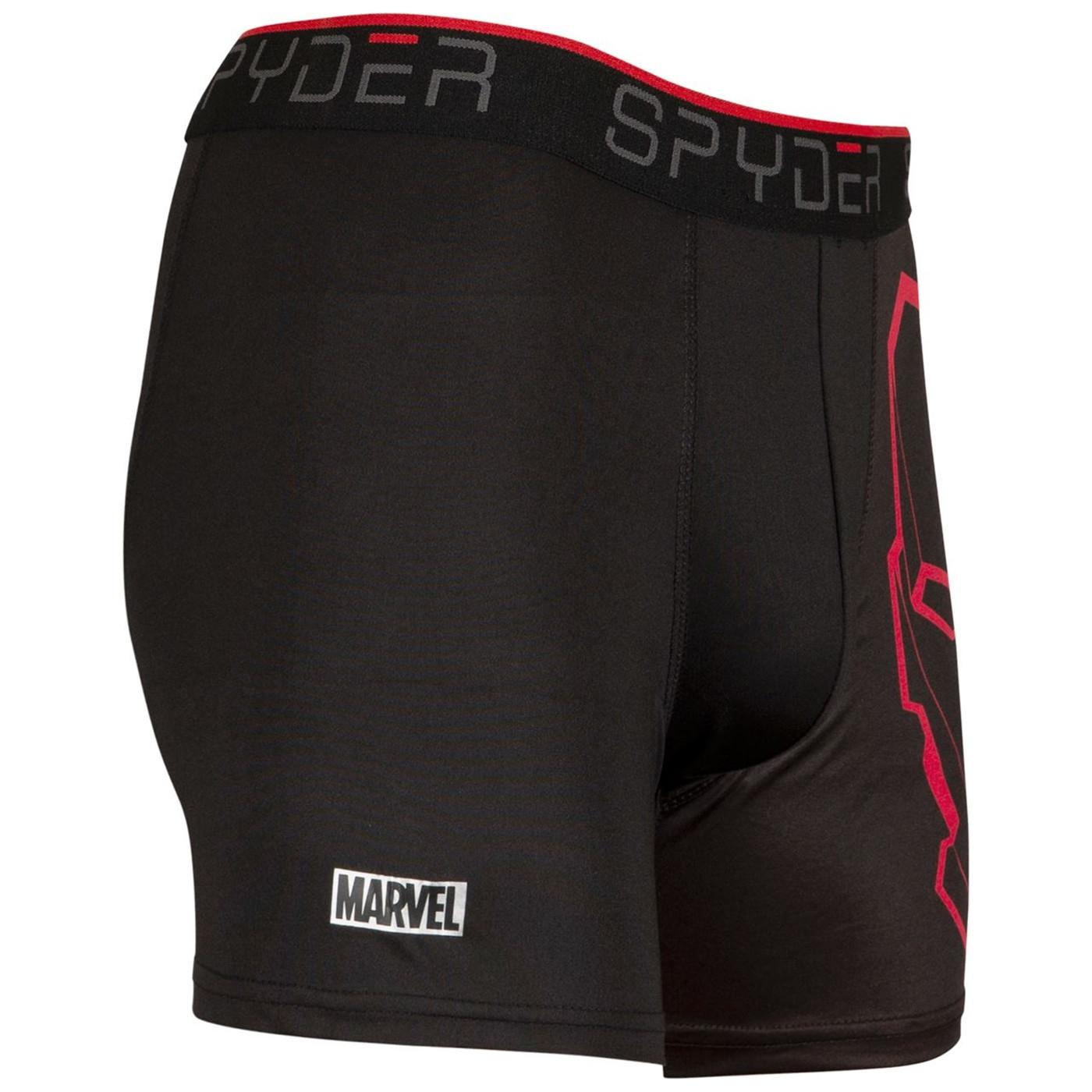 Iron Man Spyder Performance Sports Boxer Briefs 3-Pair Pack