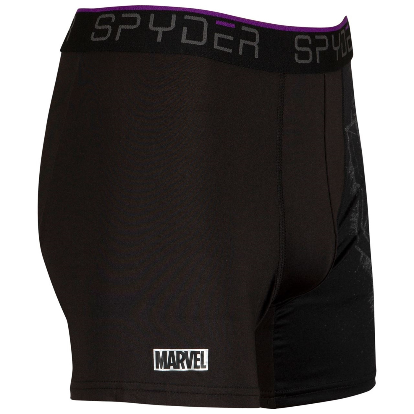 Black Panther Spyder Performance Sports Boxer Briefs 3-Pair Pack