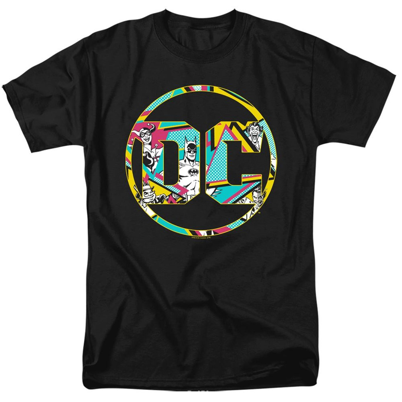 DC Comics 80's Logo Men's T-Shirt