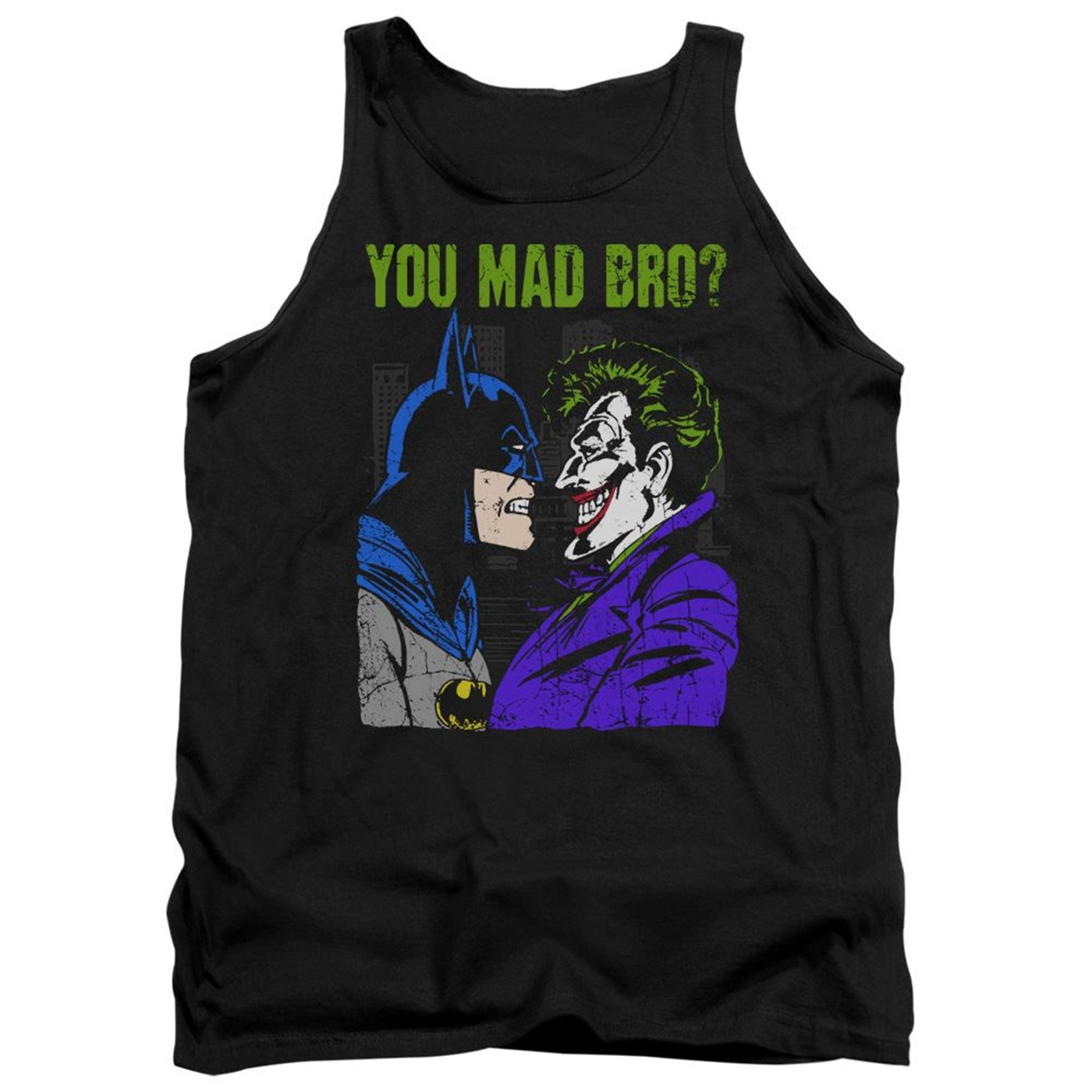 Mad Bro Batman Tank Top