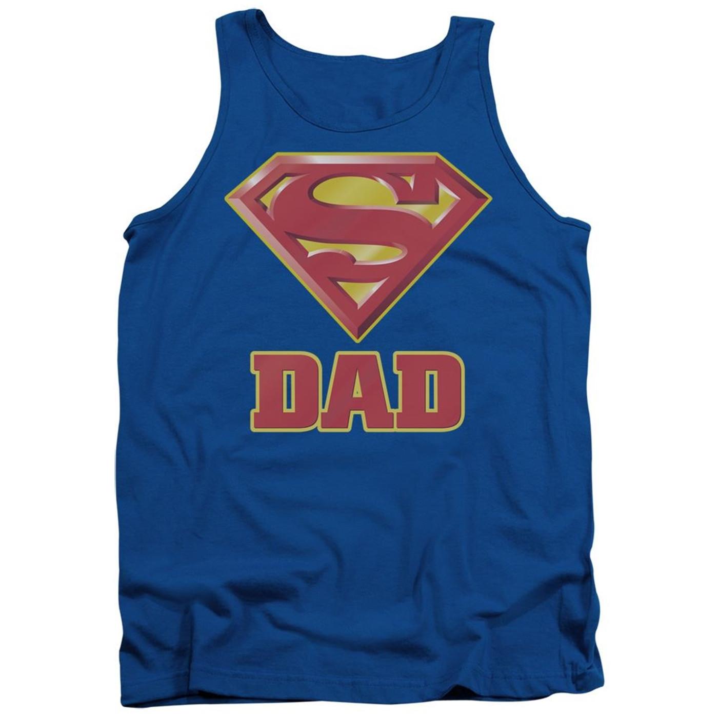 Superman Super Dad Tank Top