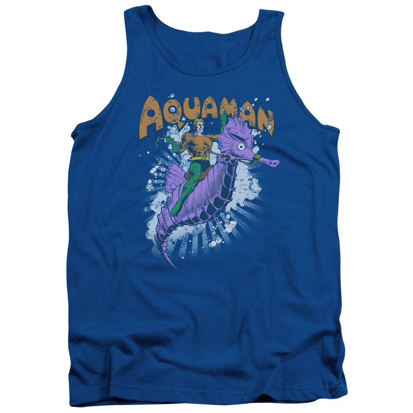 Aquaman Ride Free Tank Top