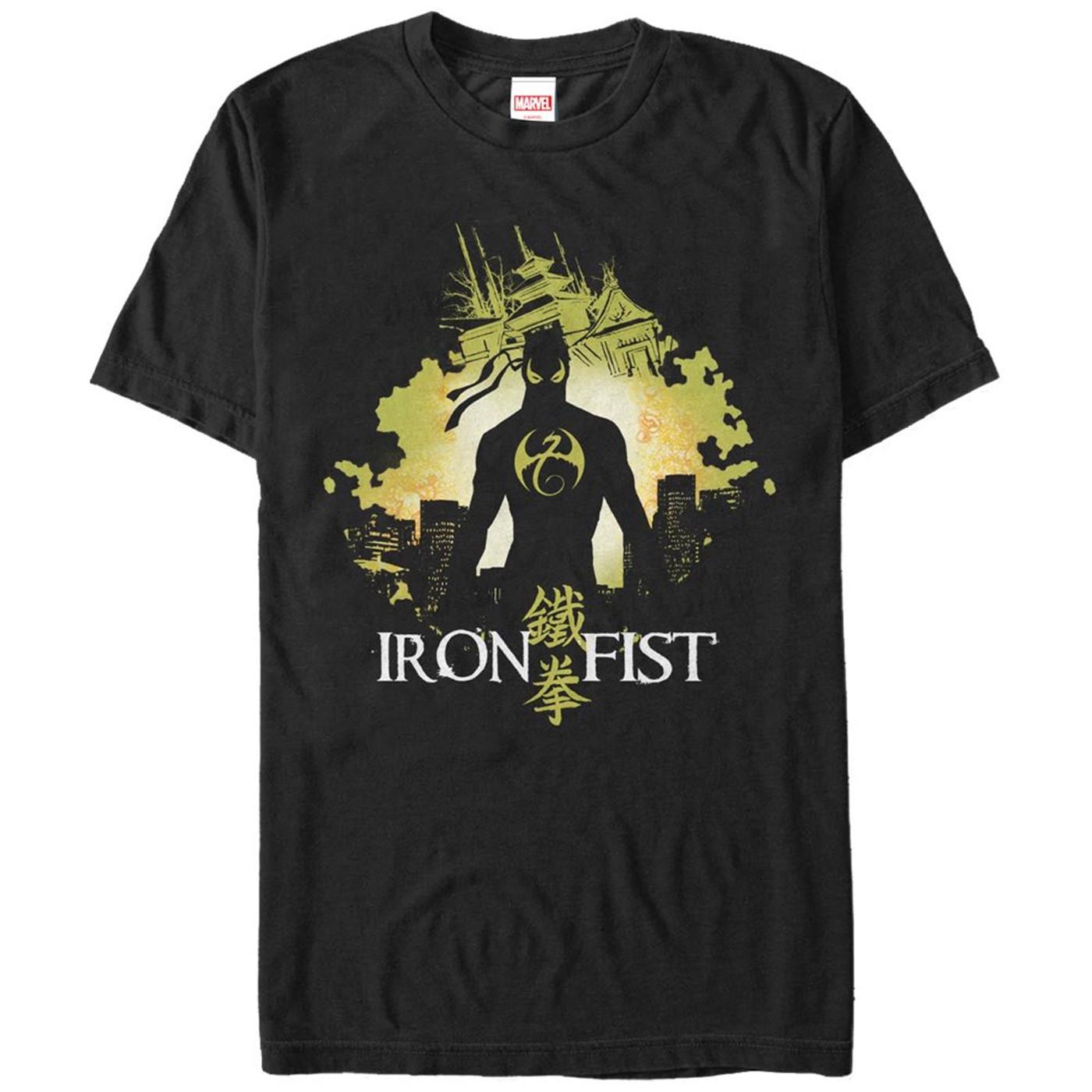 Iron Fist Cityscape Men's T-Shirt