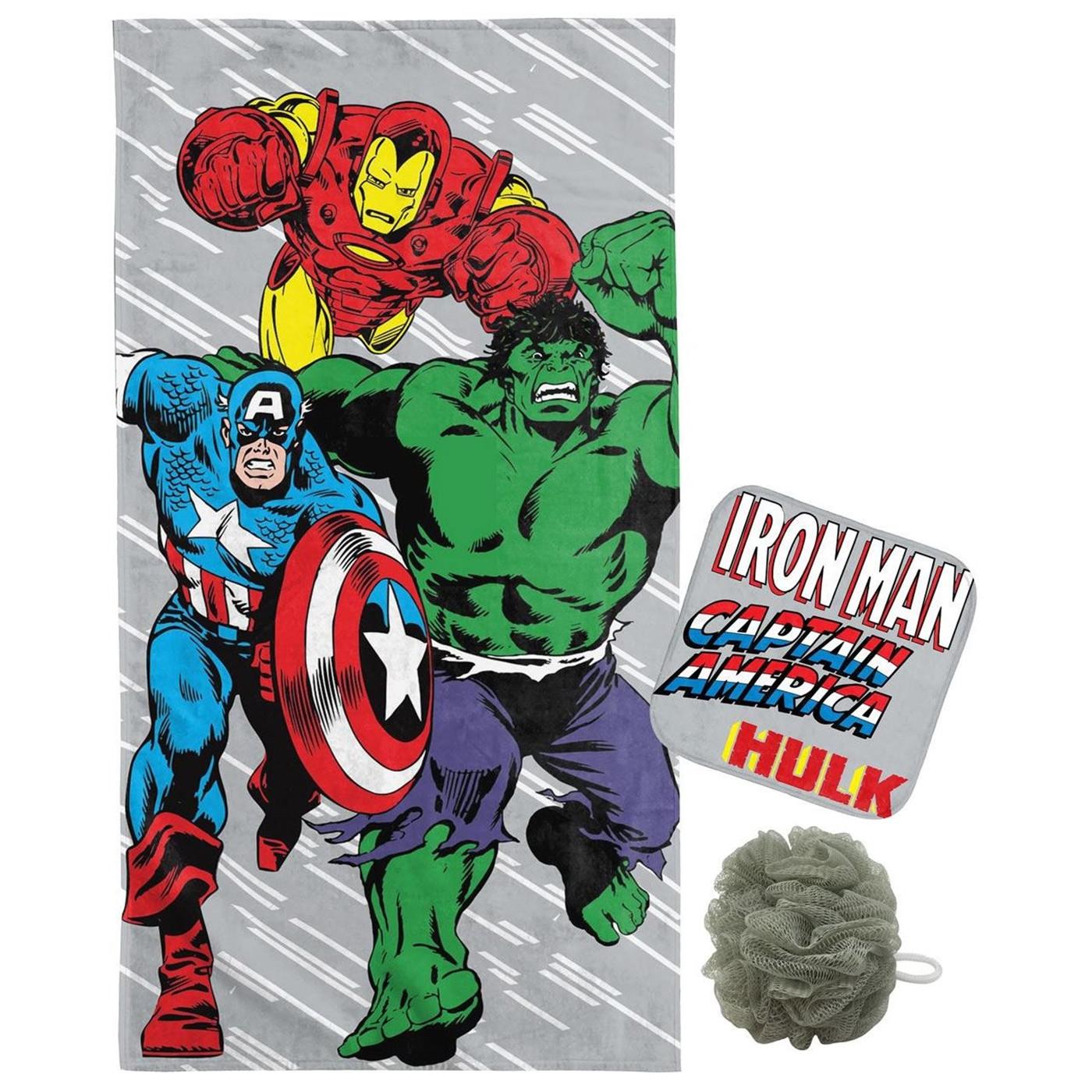Marvel 3-Piece Bath Set
