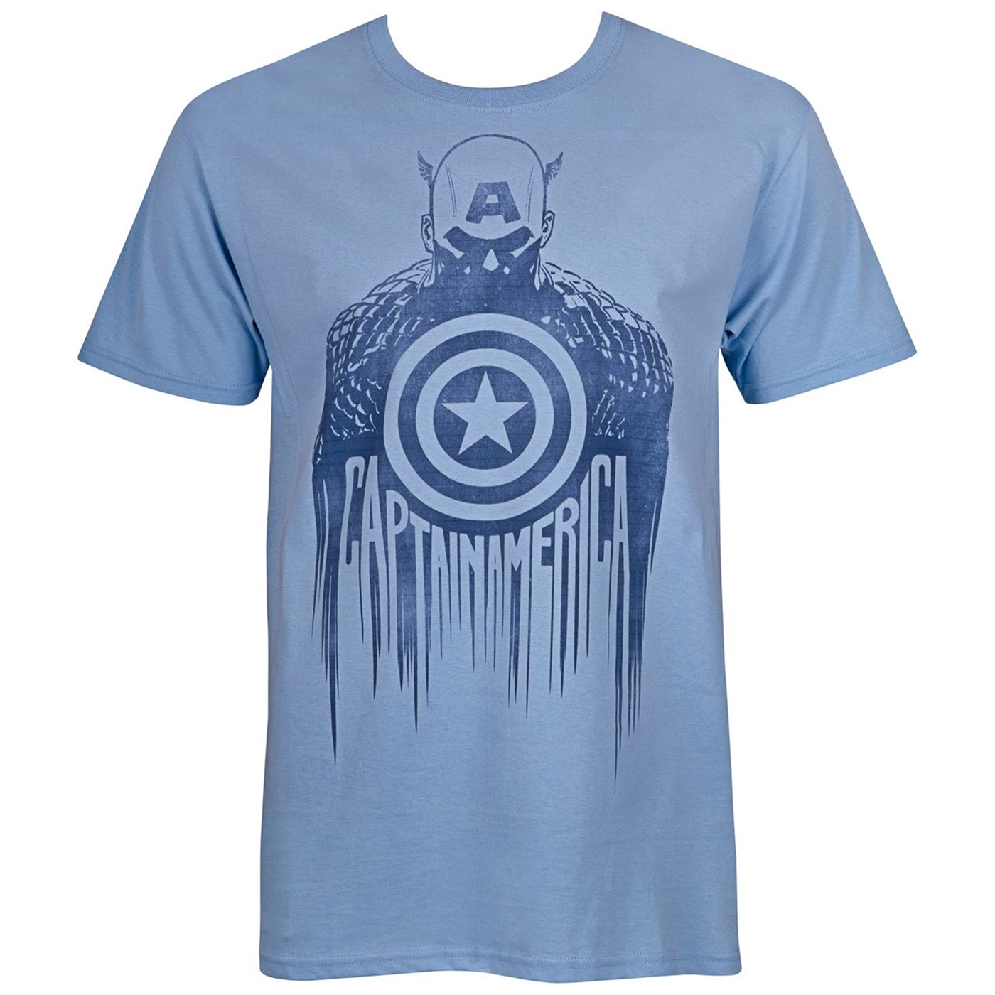 Captain America Silhouette Men's T-Shirt