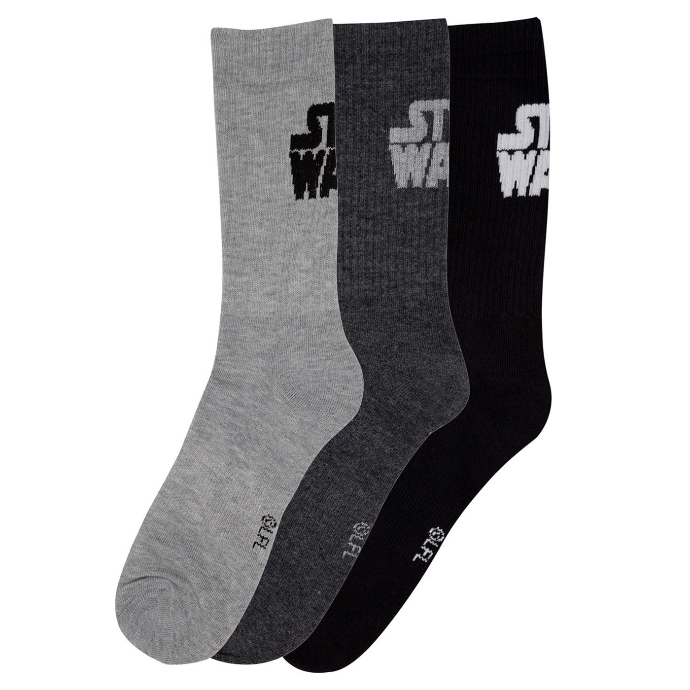 Star Wars Text 3-Pack Socks
