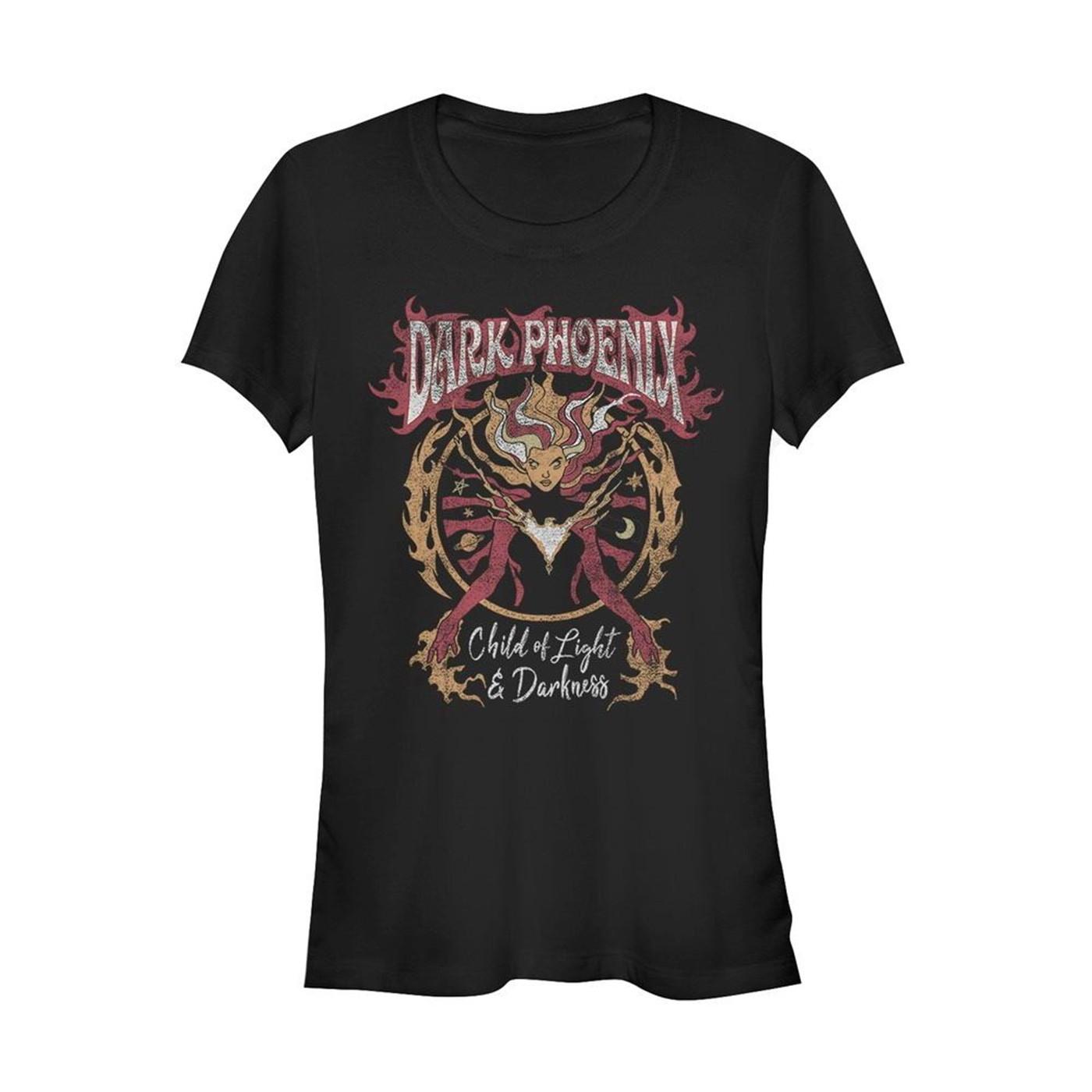 X-Men Dark Phoenix Child of Light and Darkness Women's T-Shirt