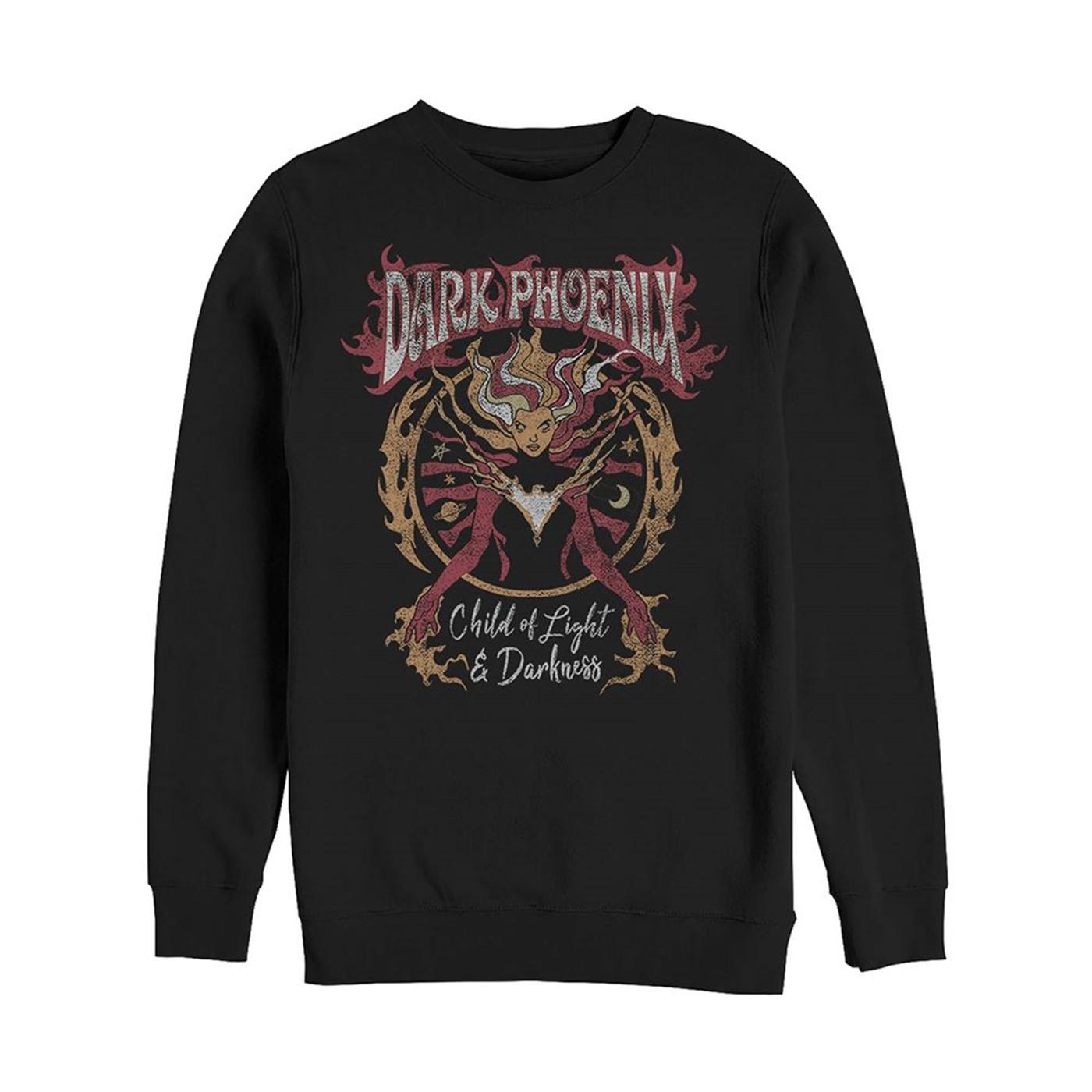 X-Men Dark Phoenix Child of Light and Darkness Sweatshirt