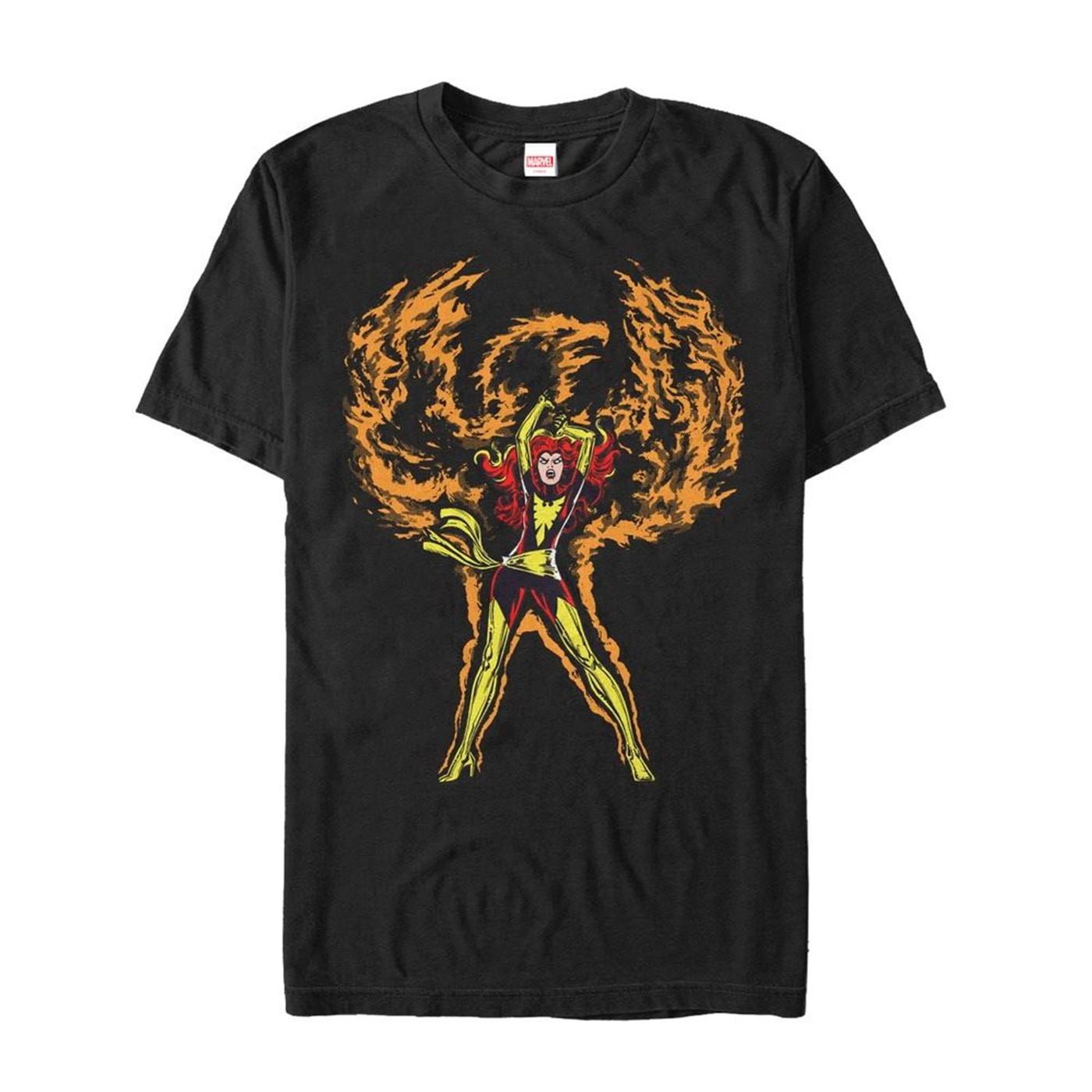 X-Men Phoenix Rises Men's T-Shirt