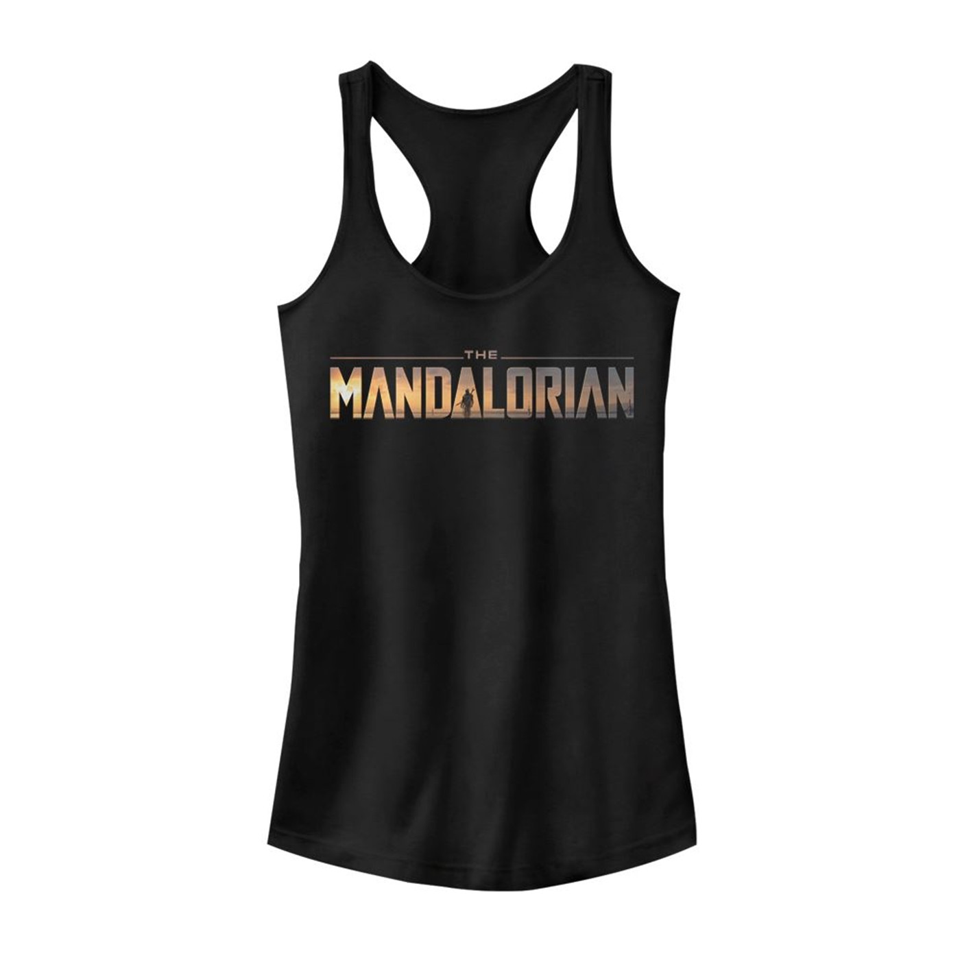 Star Wars The Mandalorian Logo Tank Top